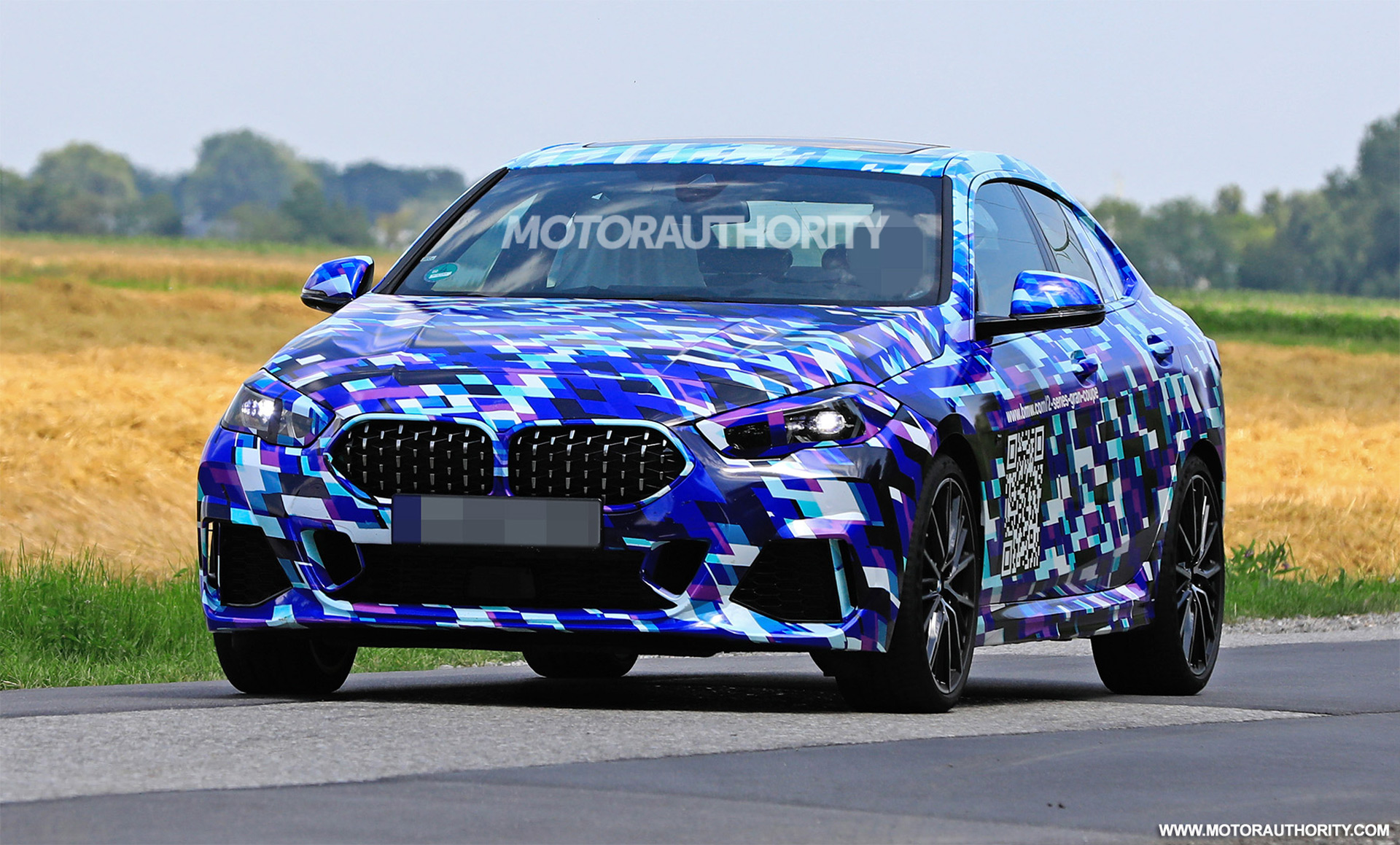 2021 Bmw 2 Series Gran Coupe Spy Shots And Video