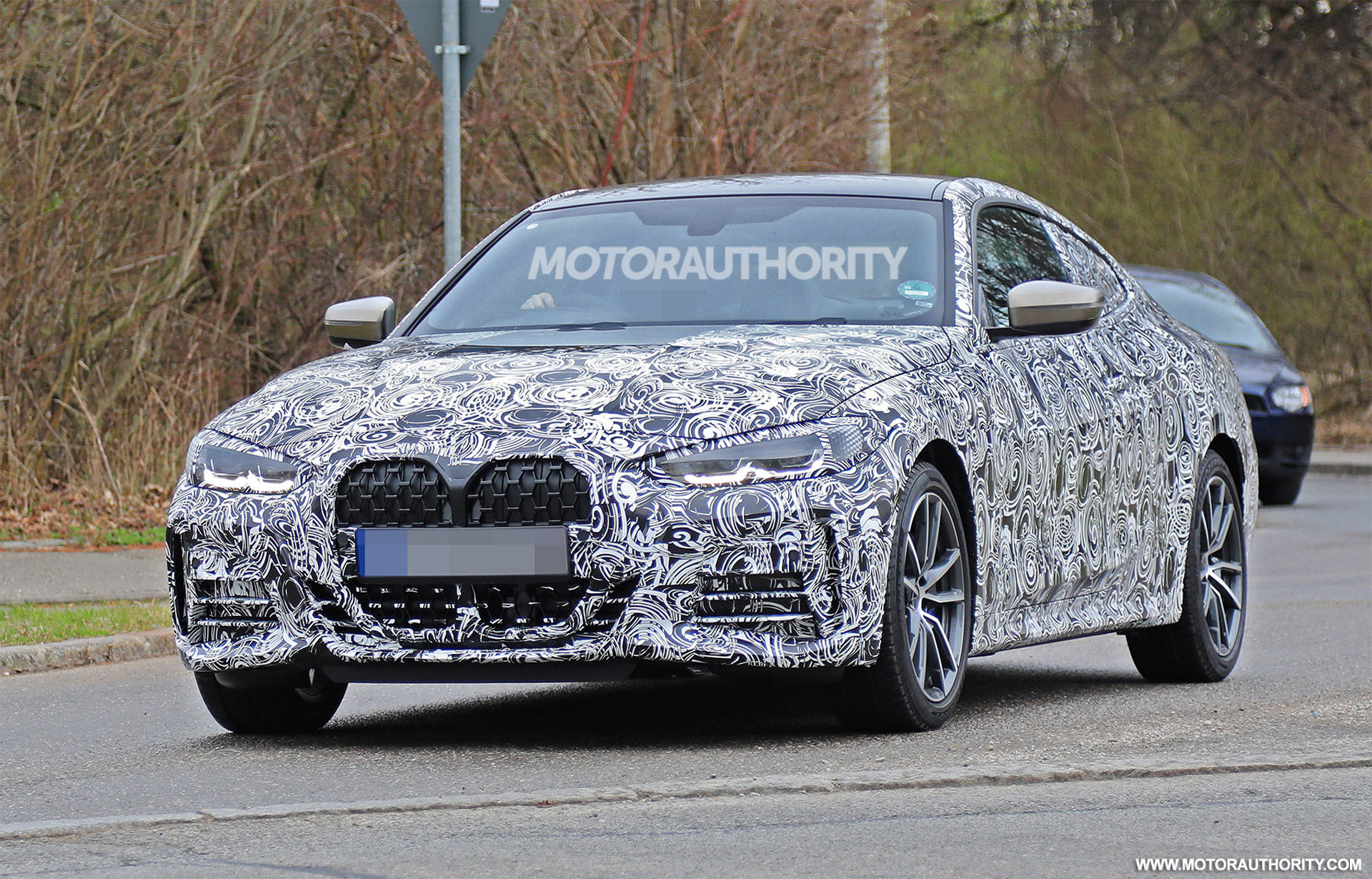 2021 bmw 4series spy shots and video