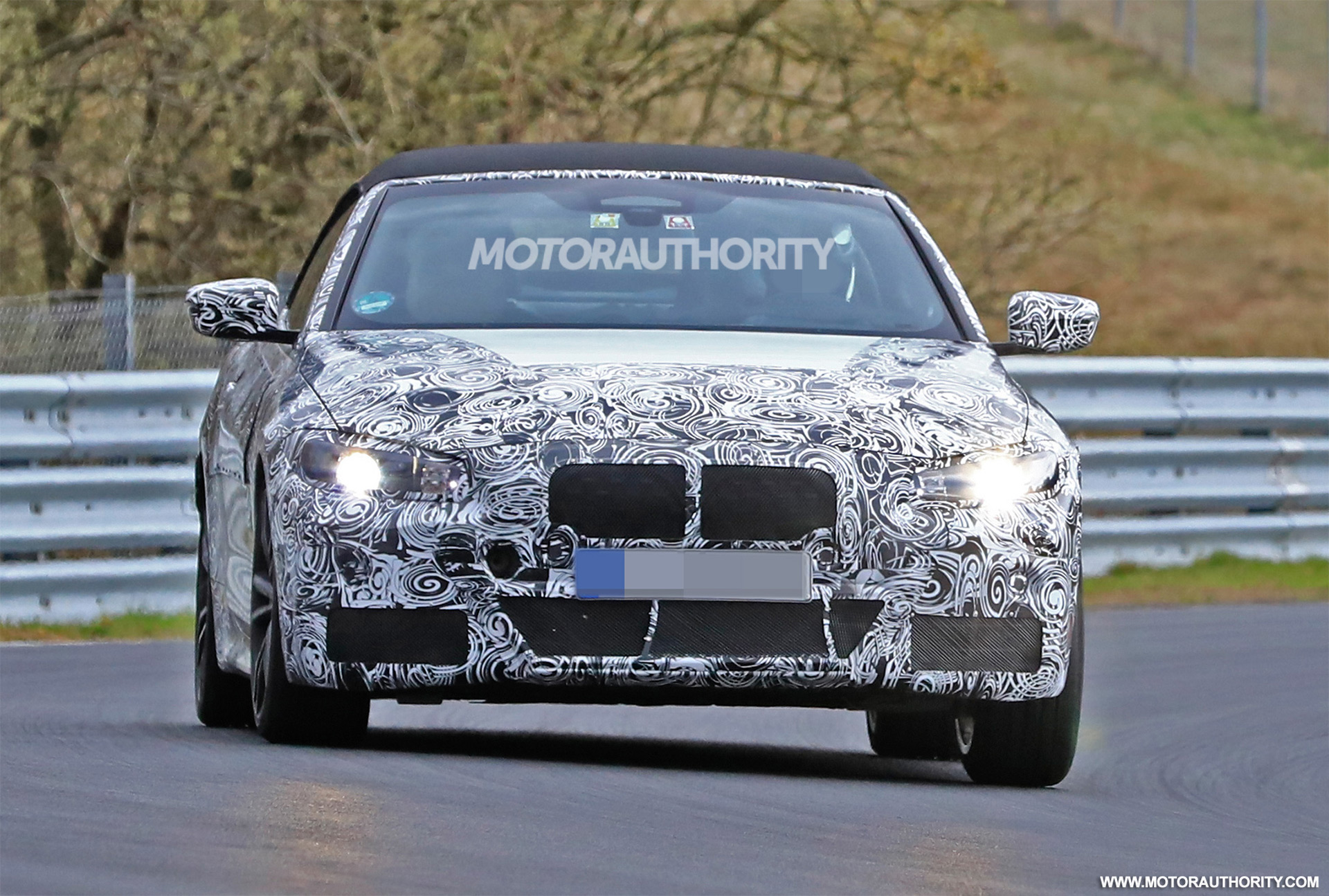 2021 Bmw 4 Series Convertible Spy Shots And Video