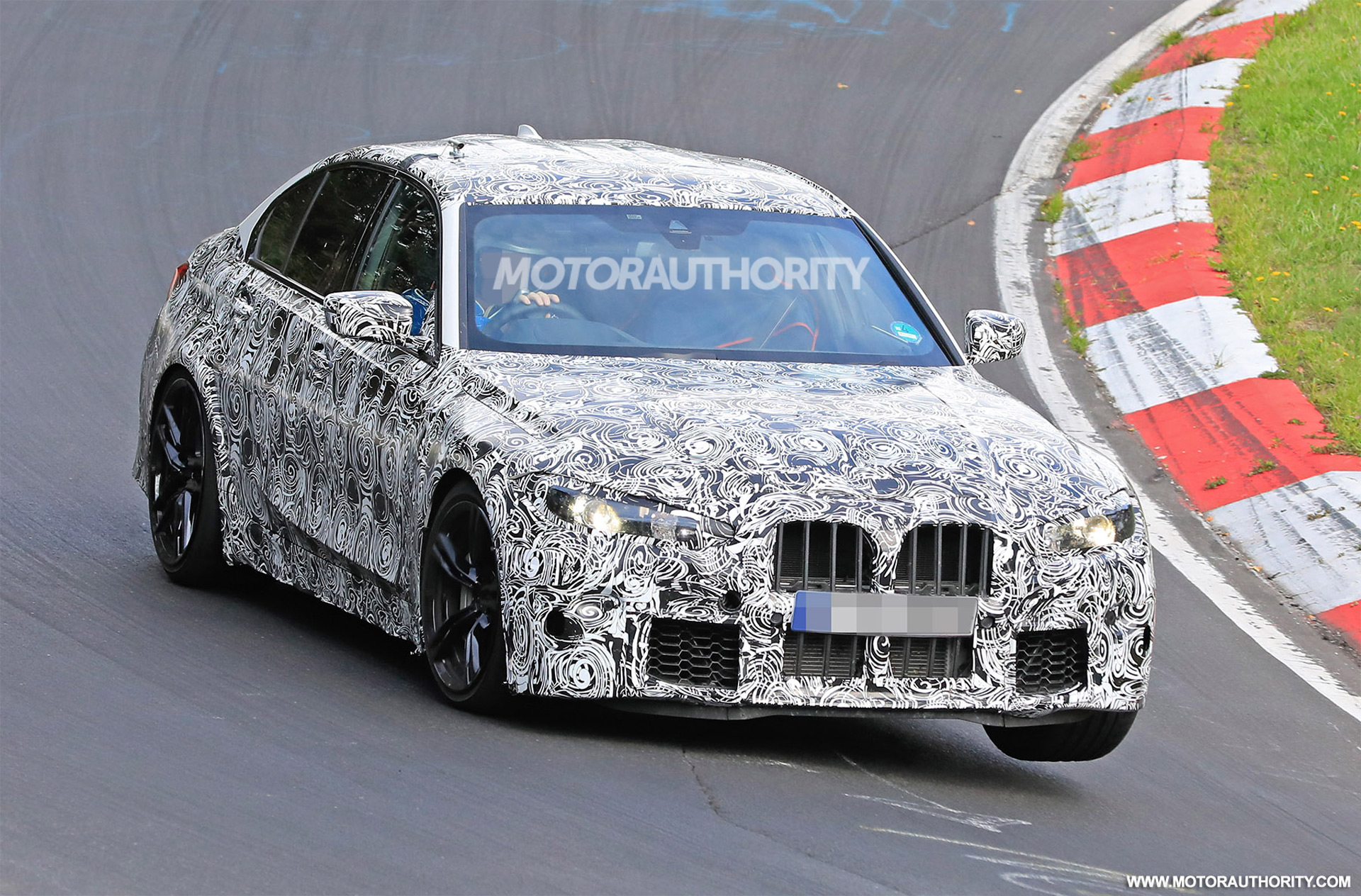 2021 bmw m3 spy shots and video
