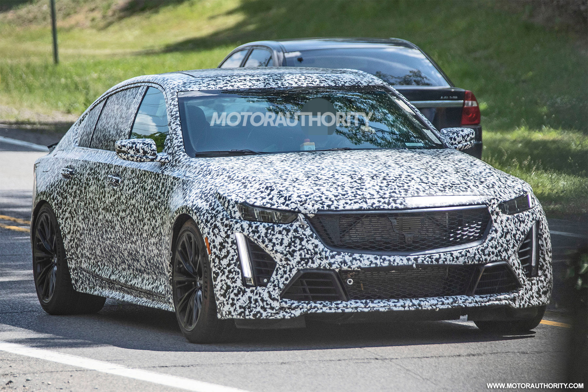 3 Cadillac CT3-V Blackwing spy shots and video