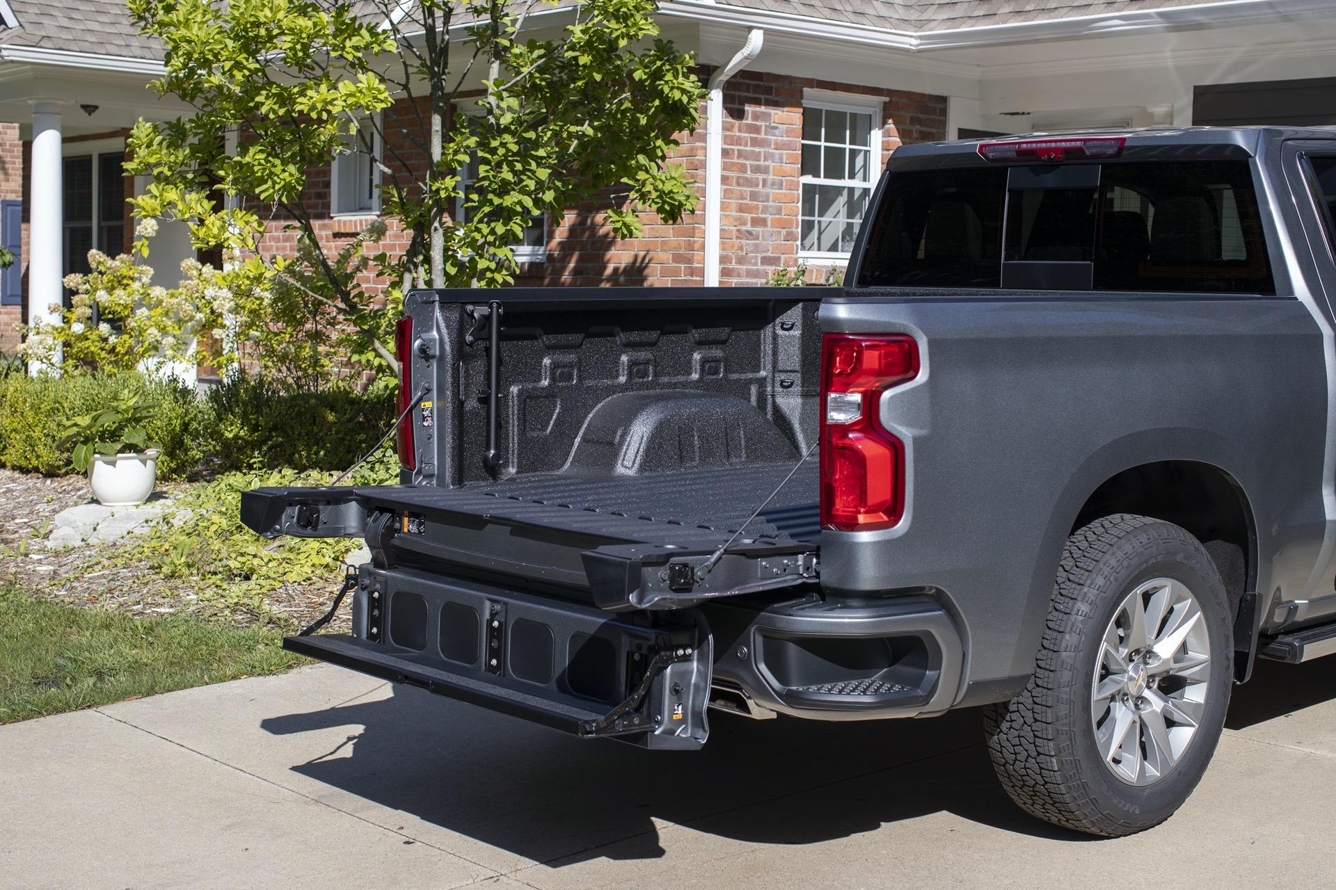 2021 Chevrolet Silverado gets 6-way tailgate, more towing ...