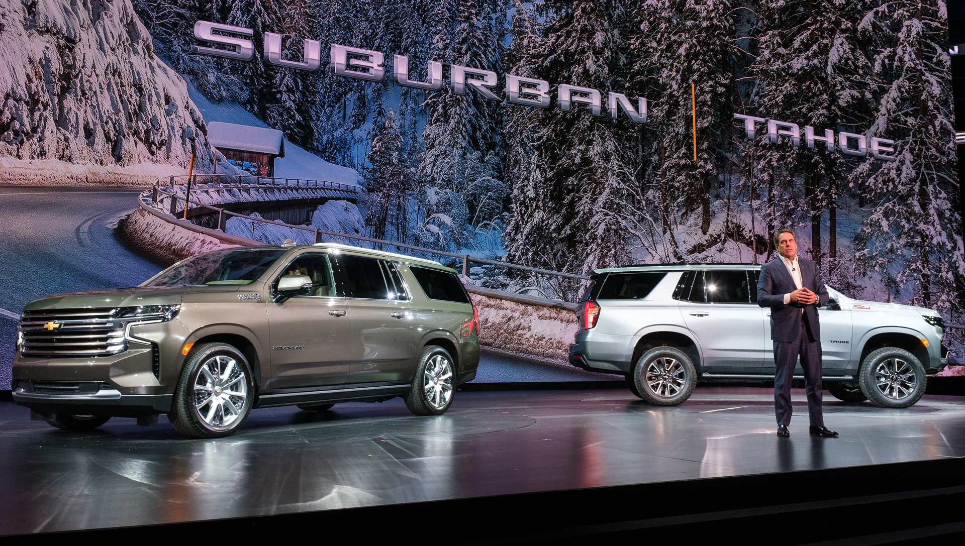 2021 Chevy Tahoe and Suburban, 2020 Audi RS 5, McLaren ...