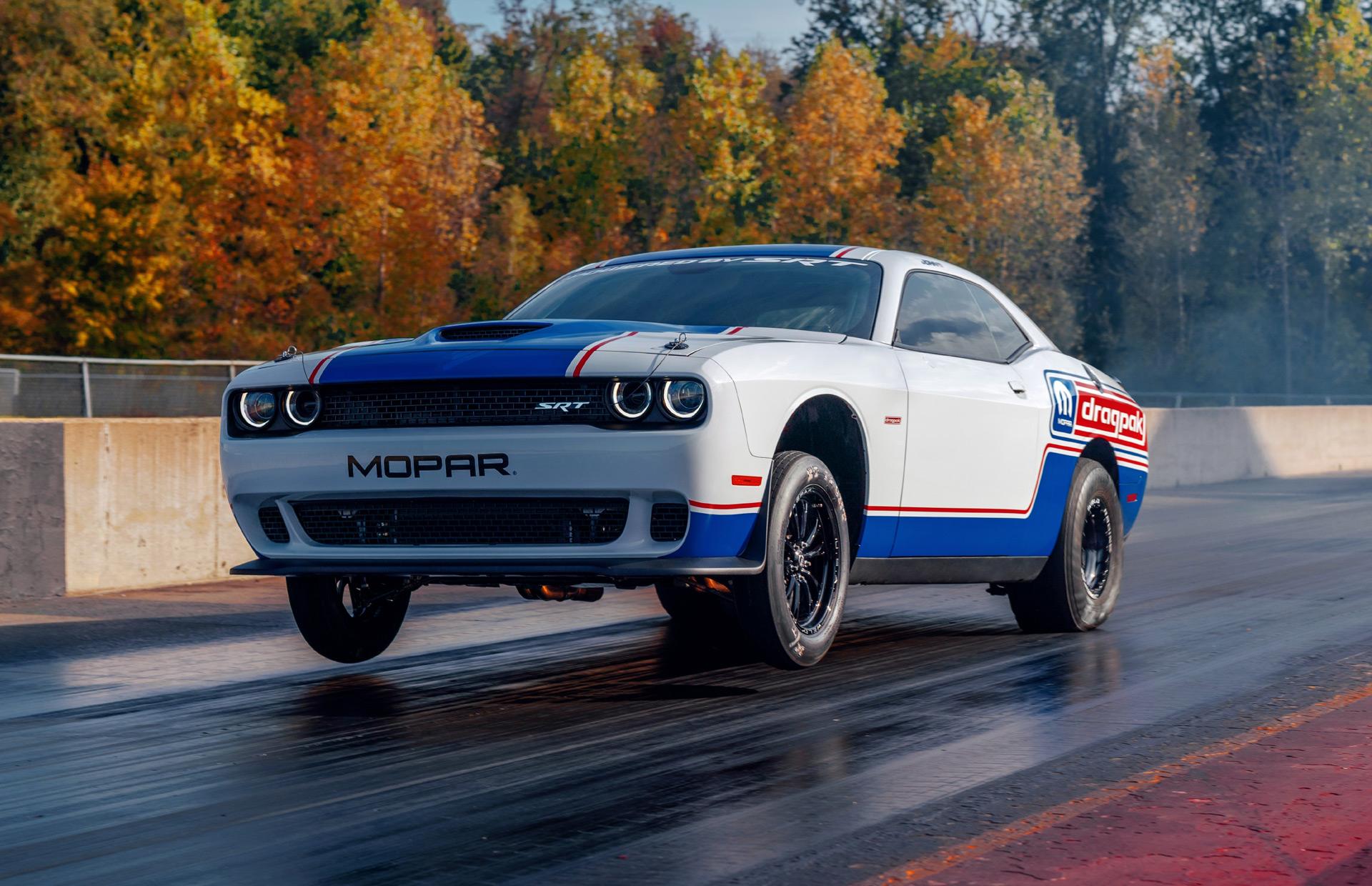 2021 Dodge Challenger Spy Shoot