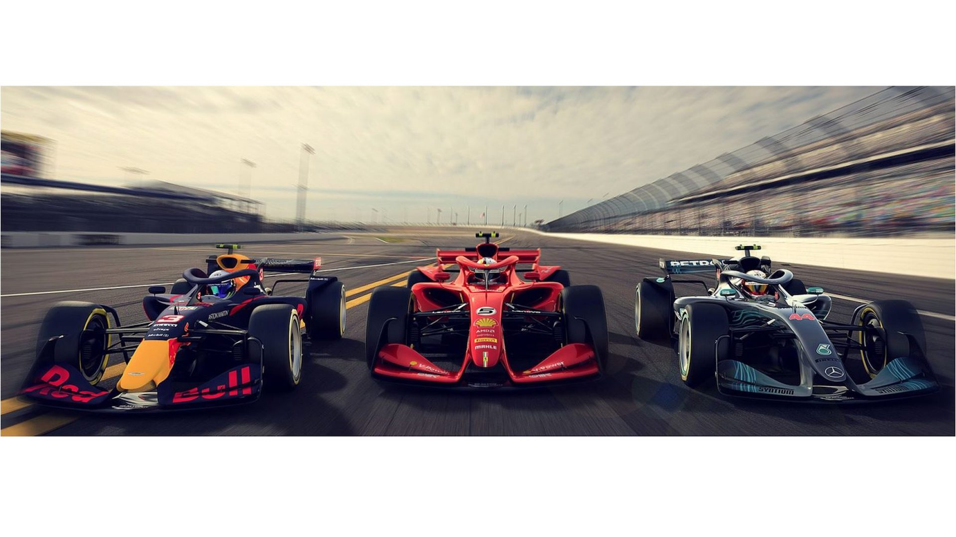 2021 F1 Car Design Proposals Focus On Aerodynamics For Better Racing