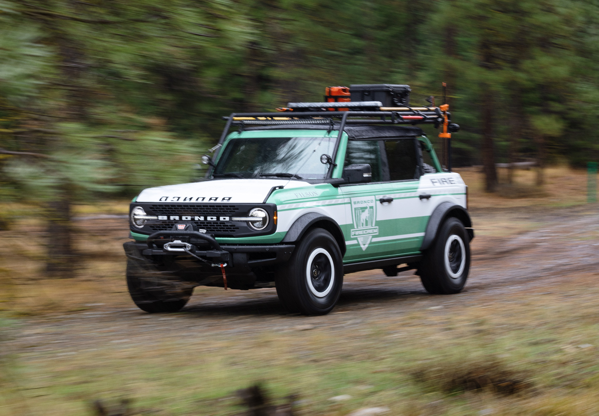 Ford and Filson imagine a Bronco first responder vehicle