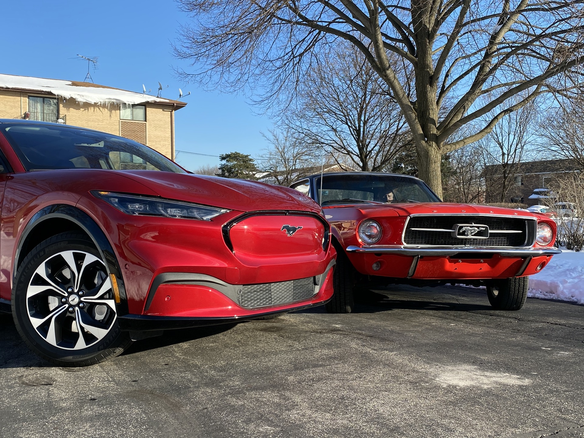Mustang Mach-E vs. '67 Mustang, Porsche vies with Ferrari, Chevy Bolt EV range report: What's New @ The Car Connection