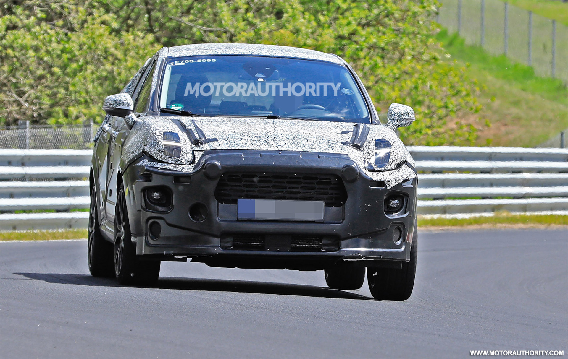 ford puma st spy shots