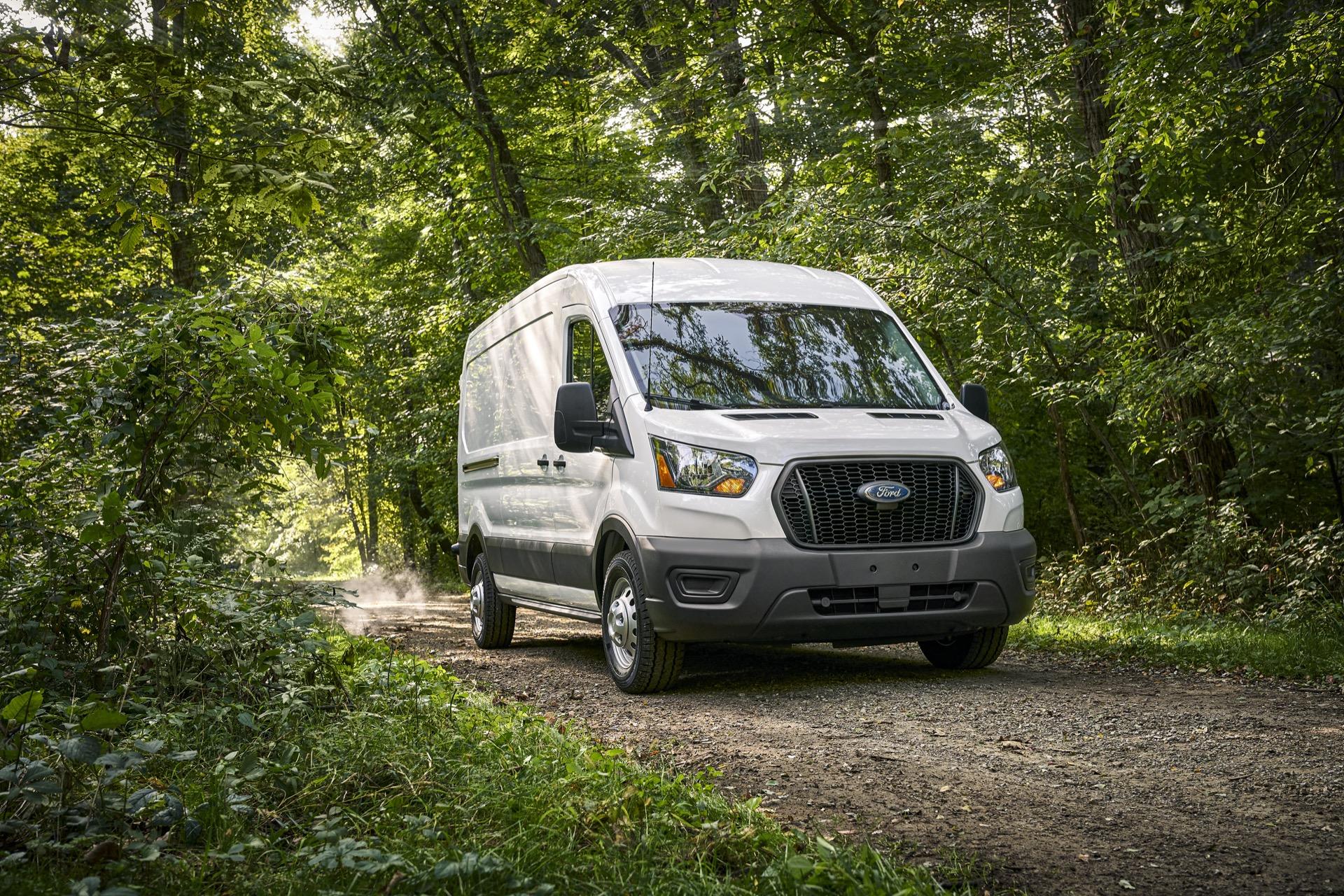 2021 Ford Transit Van Recreates The Mobile Home And Work Van