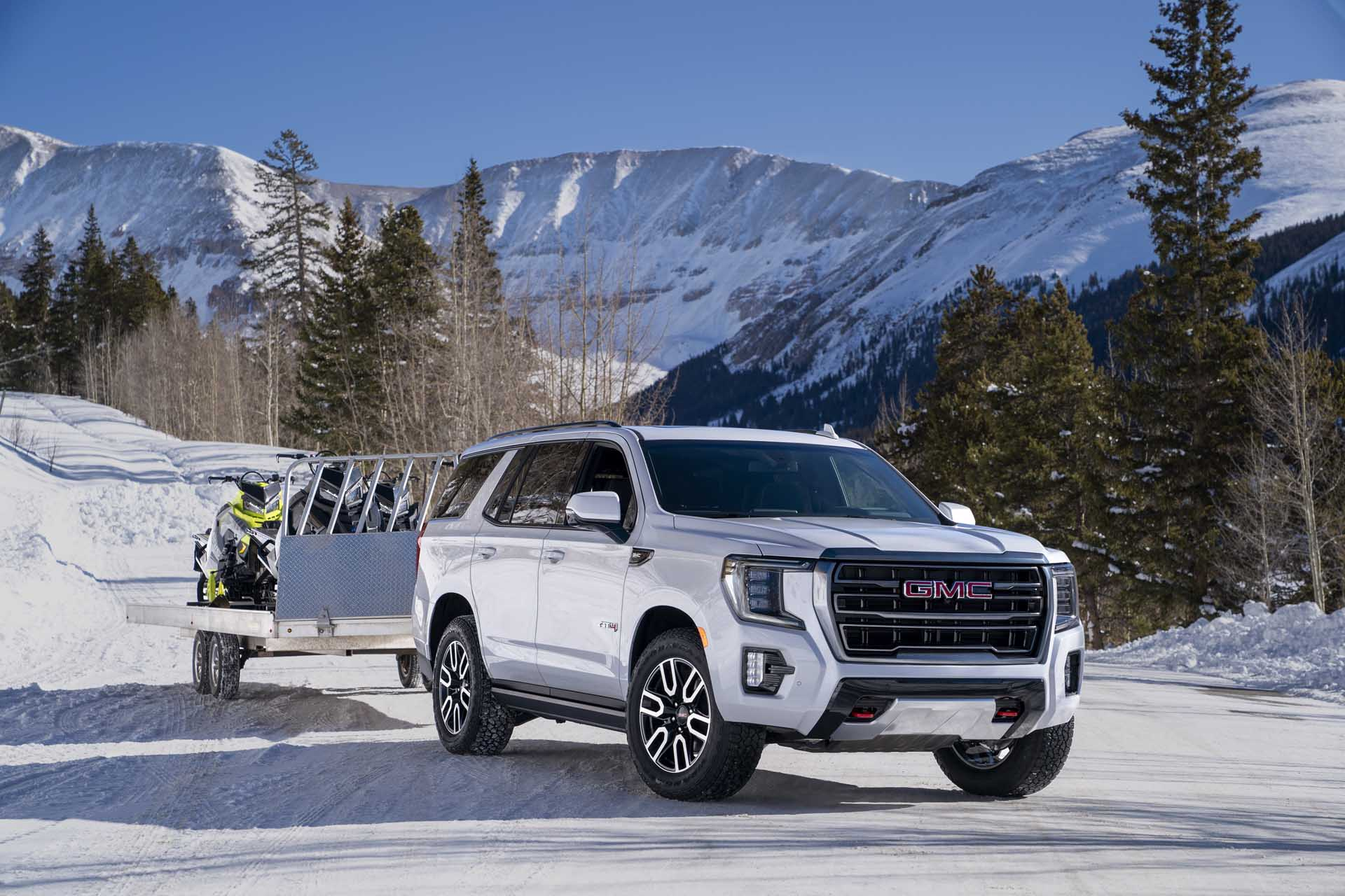 2021 Gmc Yukon Gets Big Boost In Towing Small Bump In Fuel Economy