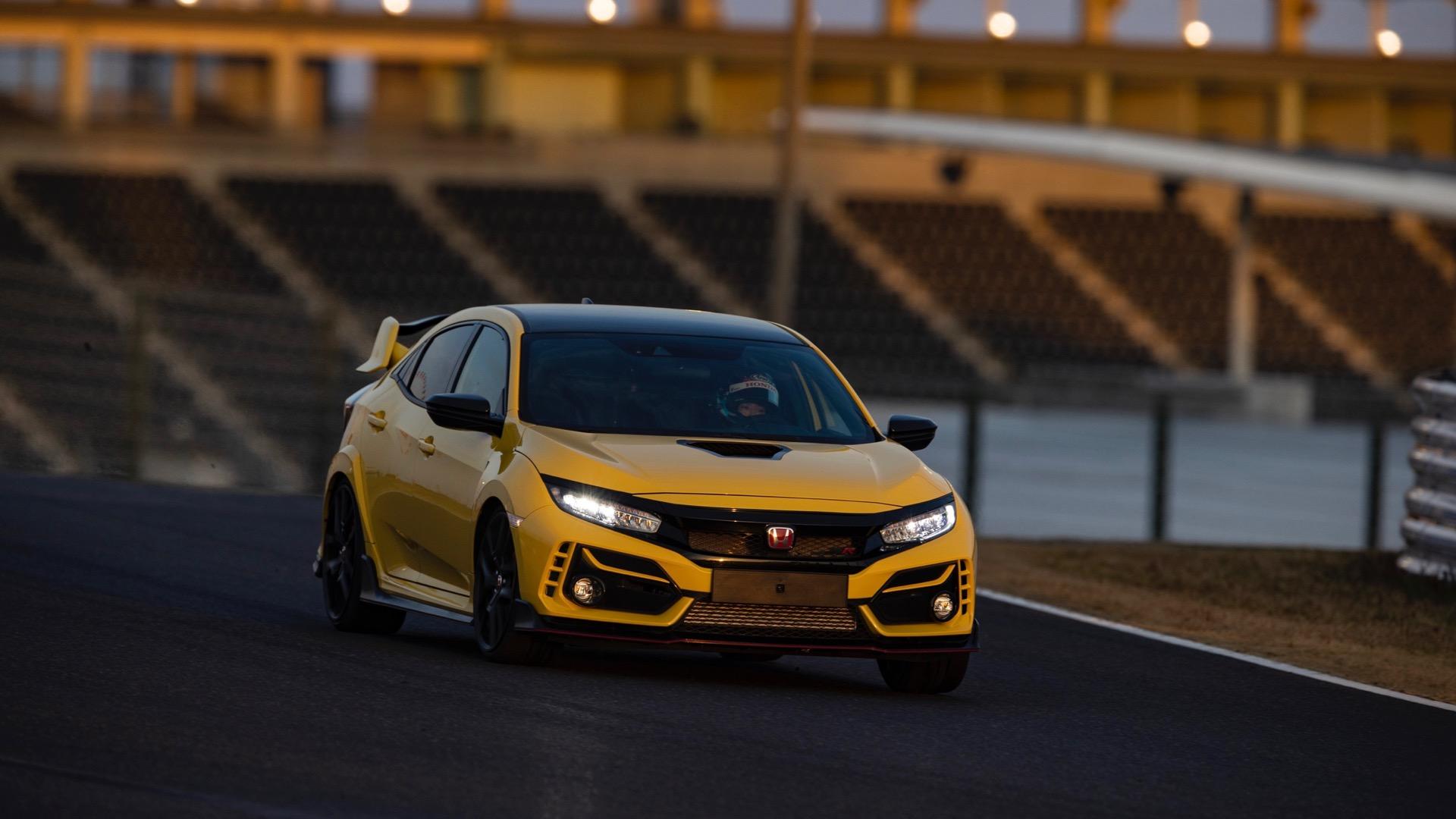 2021 Honda Civic Type R Limited Edition drops weight, sets Suzuka lap record