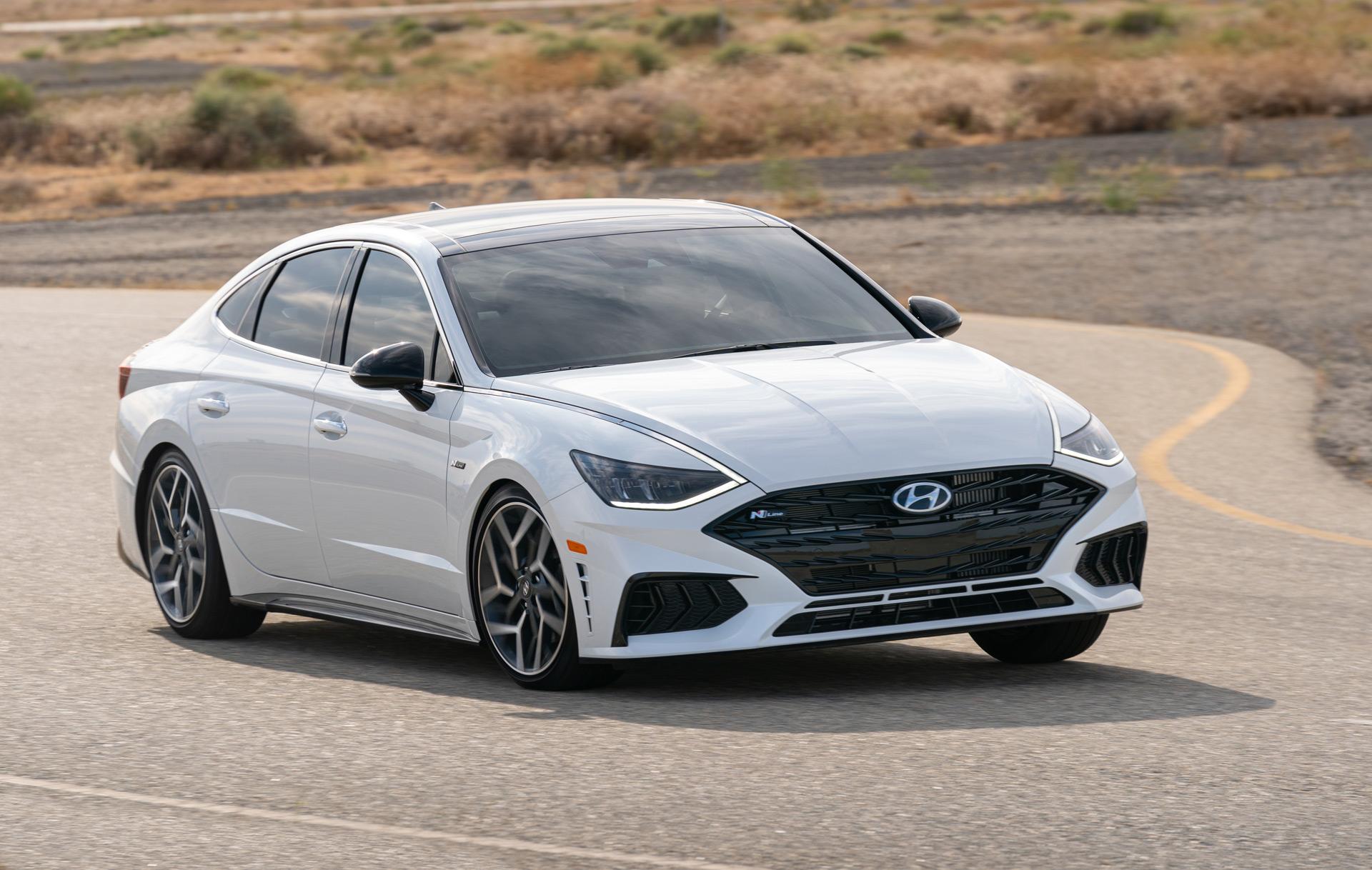 2021 Hyundai Sonata gears up with N Line performance trim