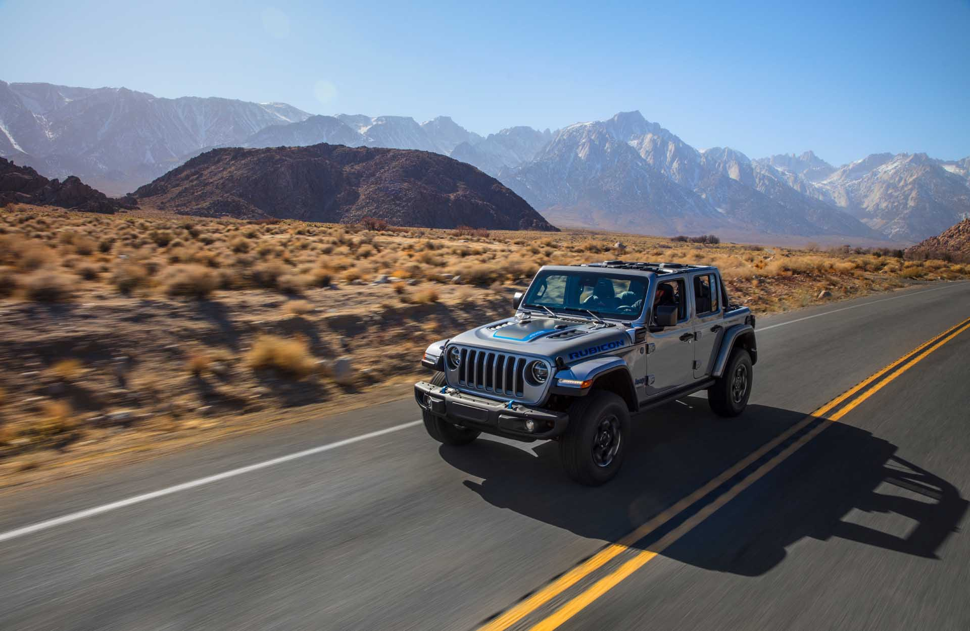 2021 Jeep Wrangler 4xe Plug In Hybrid Suv First Look Clean But Also Dirty