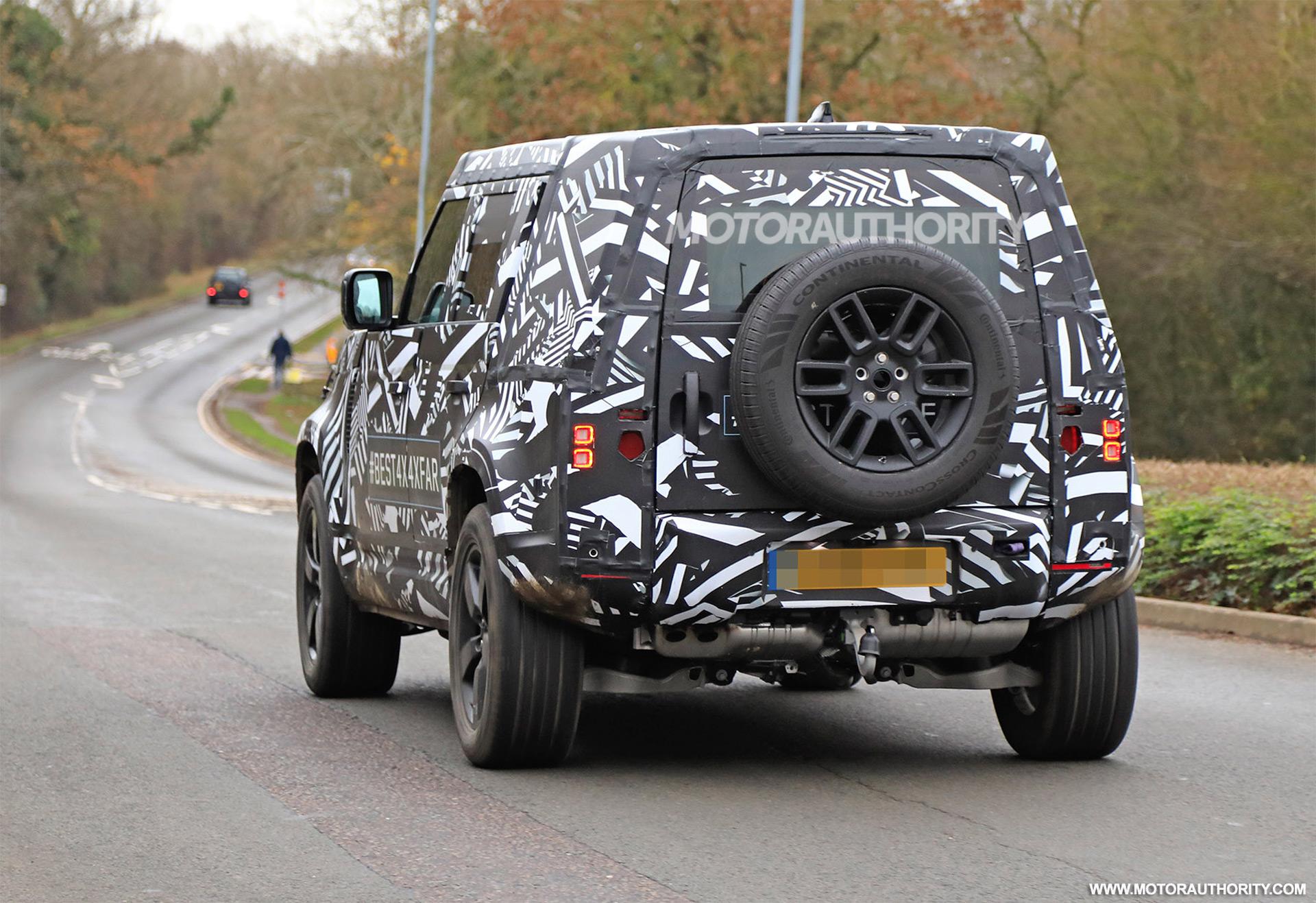 2021 Land Rover Defender, 2019 Chevy Colorado ZR2, SSC ...
