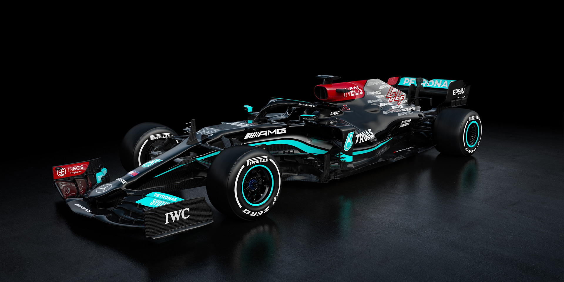 Alfa Romeo, Alpine, McLaren and Mercedes-Benz AMG show 2021 Formula One cars