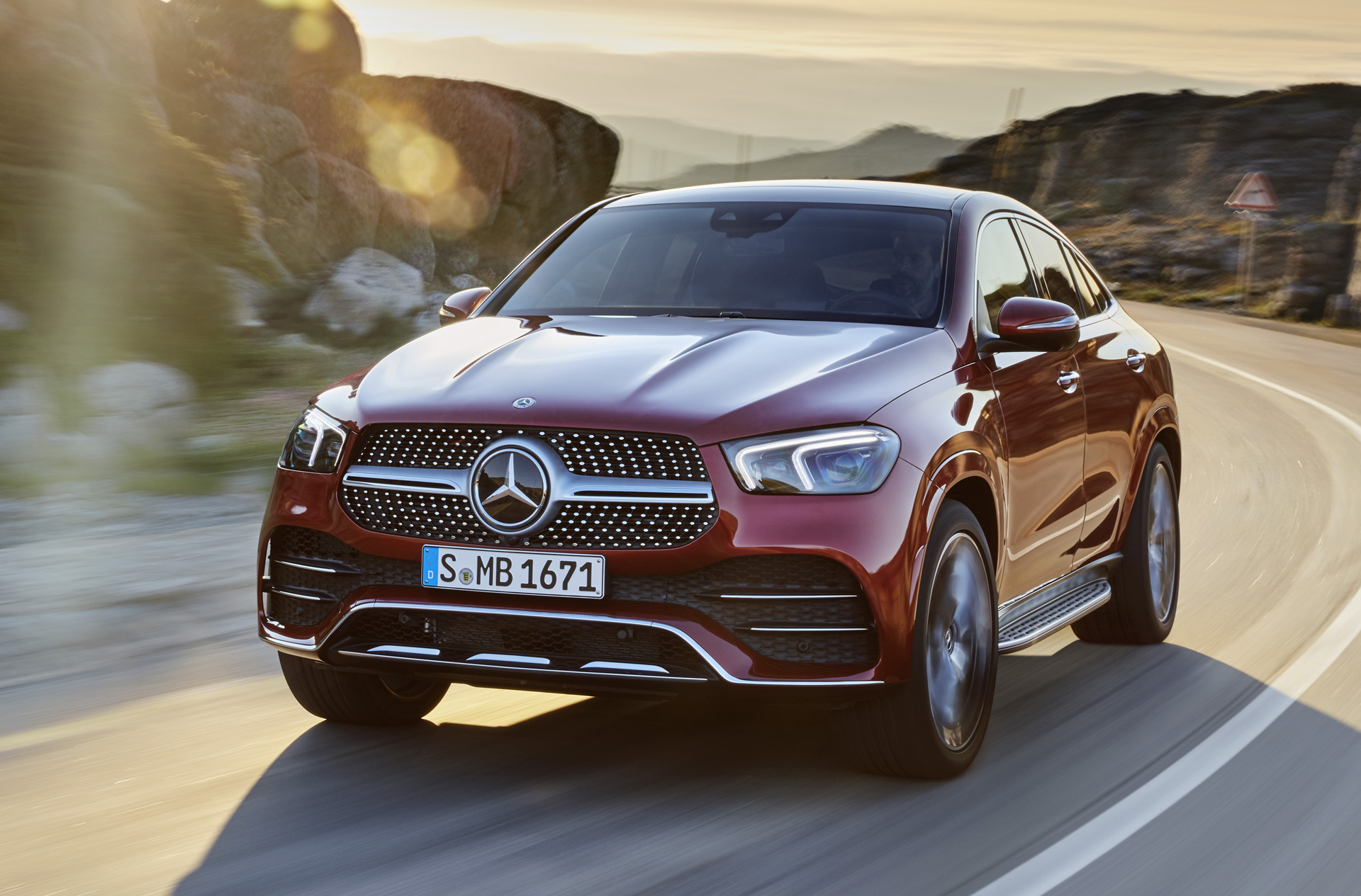 2021 Mercedes Benz Gle Coupe Dials Up The Style Luxury