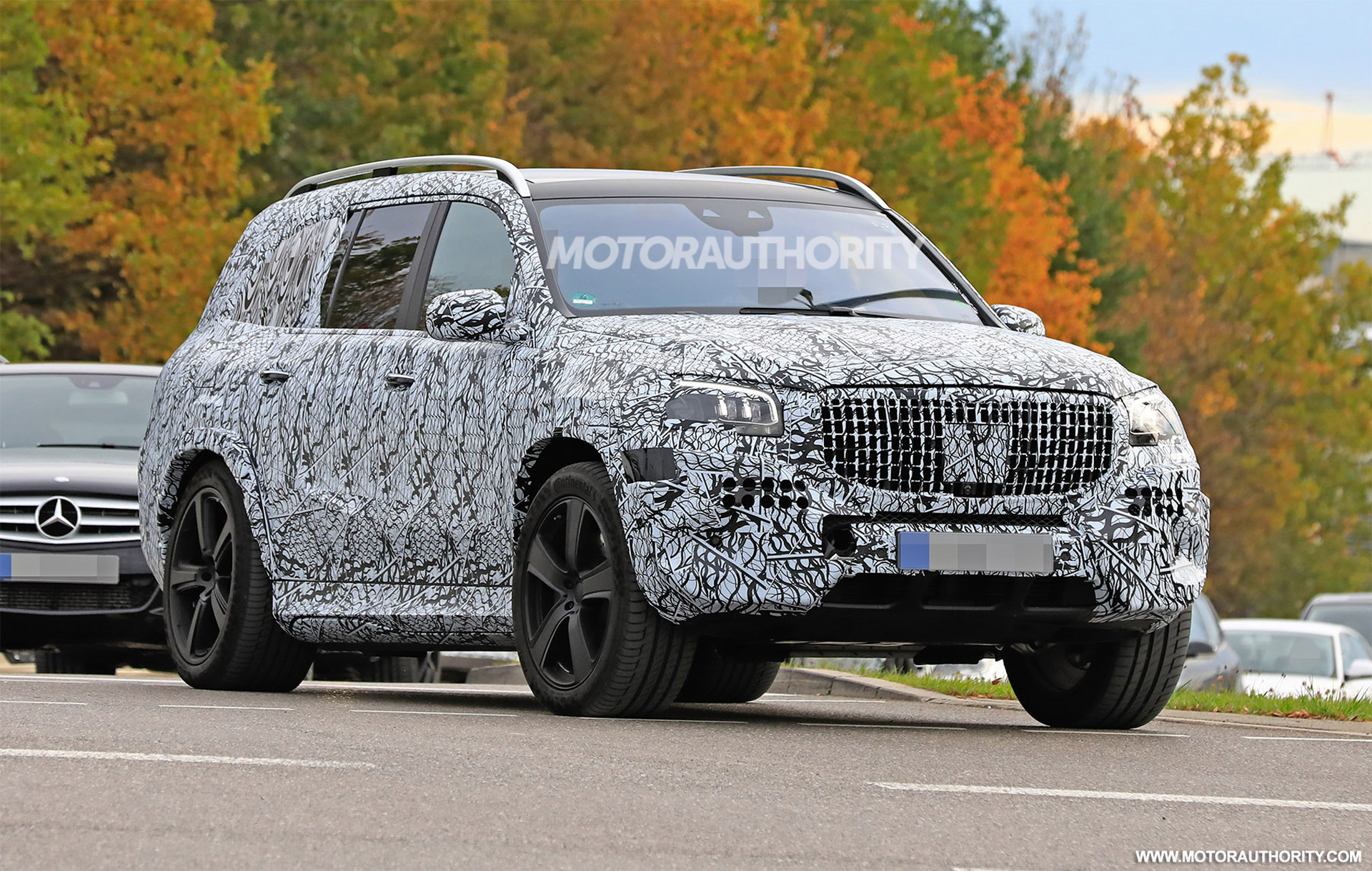 2021 Mercedes Maybach Gls Spy Shots