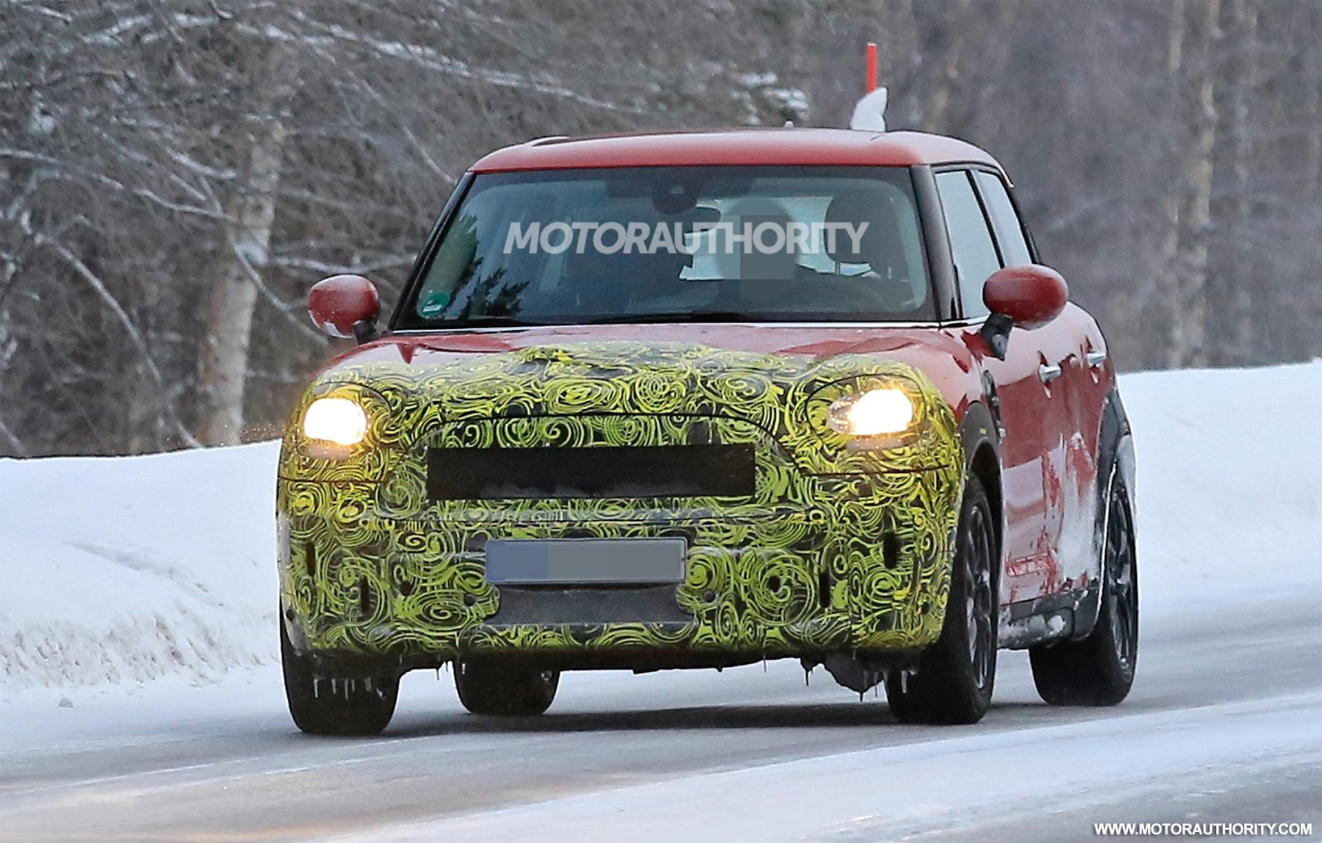 2021 Spy Shots Mini Countryman New Model and Performance