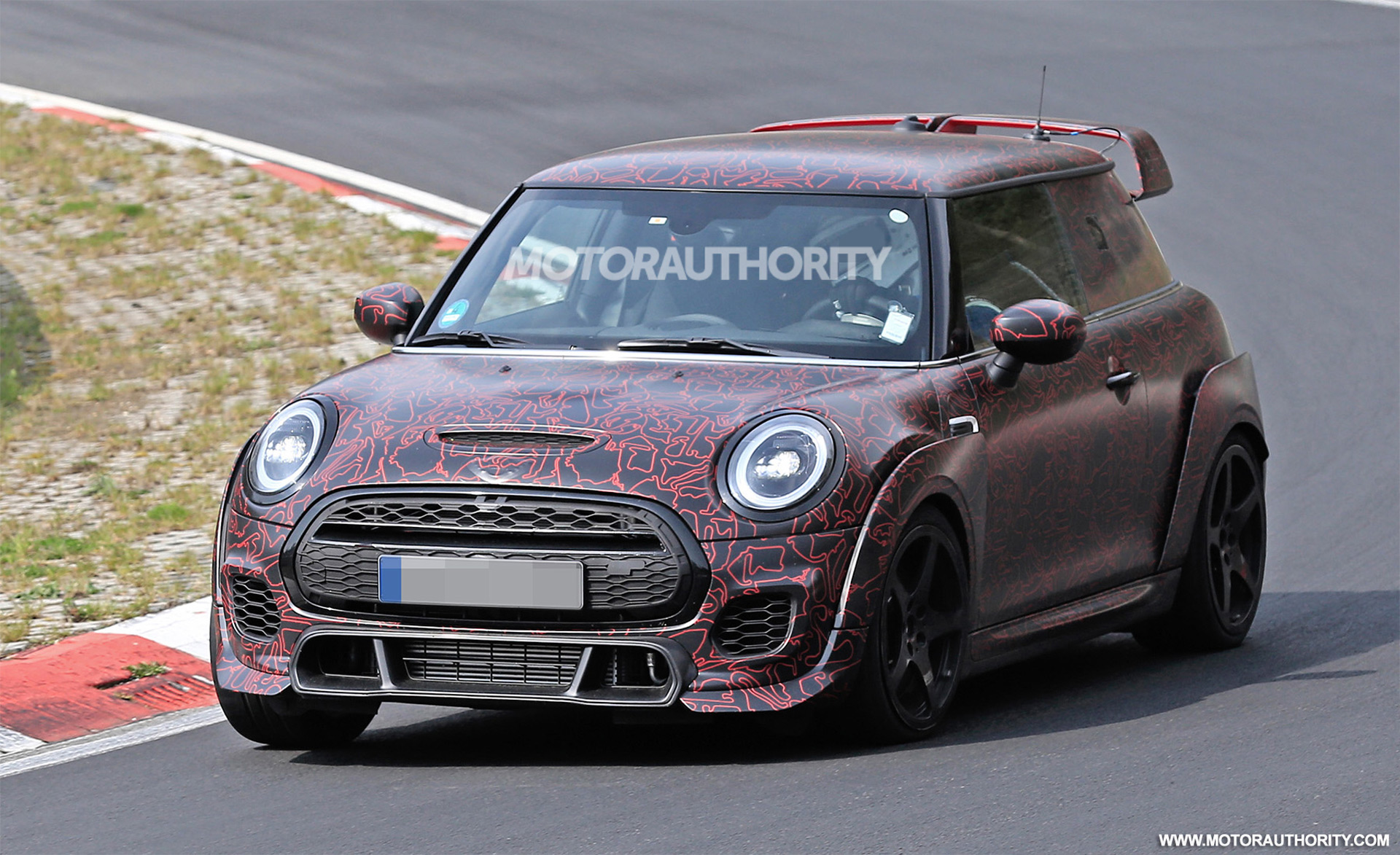 2021 Mini John Cooper Works Gp Spy Shots And Video