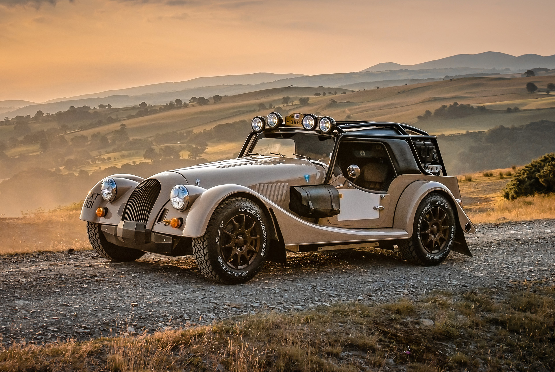 Morgan gets into the overlanding spirit with Plus Four CX-T