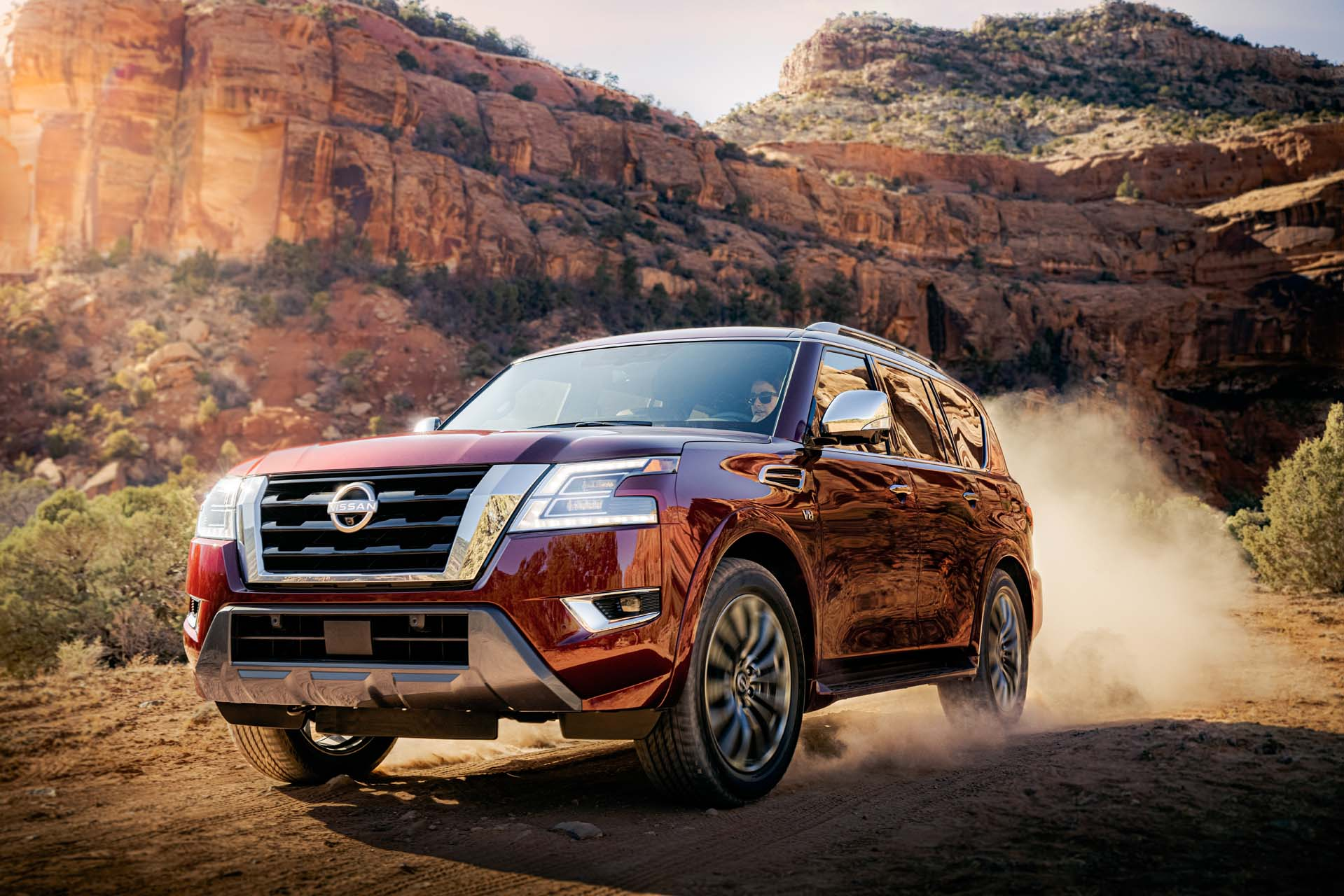 Preview: 2021 Nissan Armada arrives with a fresh face, modern interior for $49,895