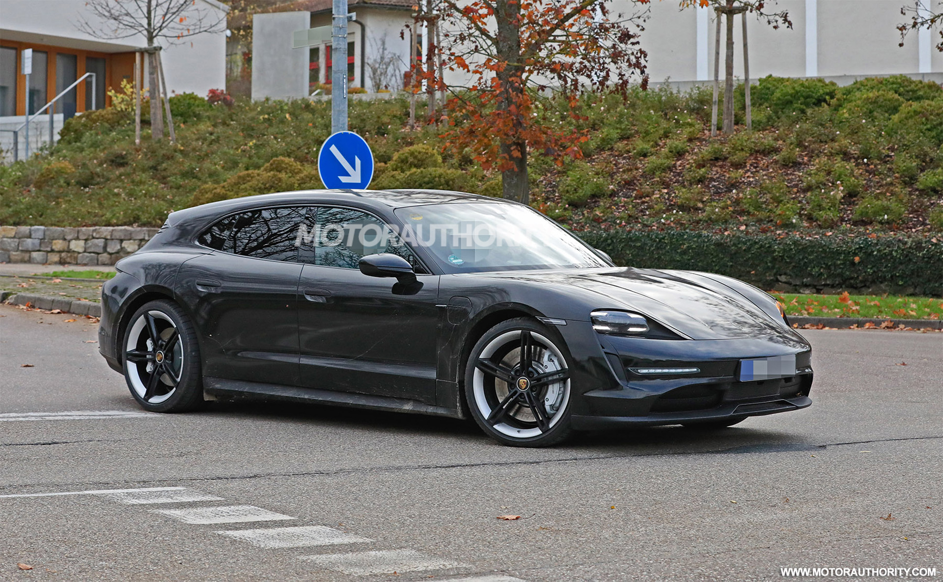 2021 Porsche Taycan Cross Turismo Spy Shots Electric Wagon Sheds Camo
