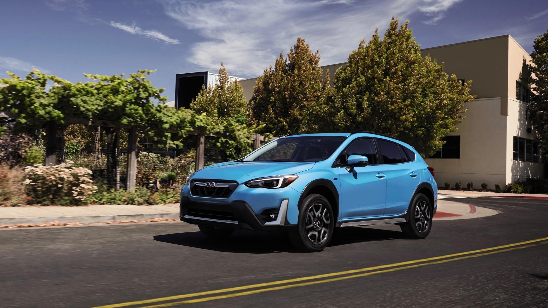 4 Subaru Crosstrek Hybrid updated with $4 price increase