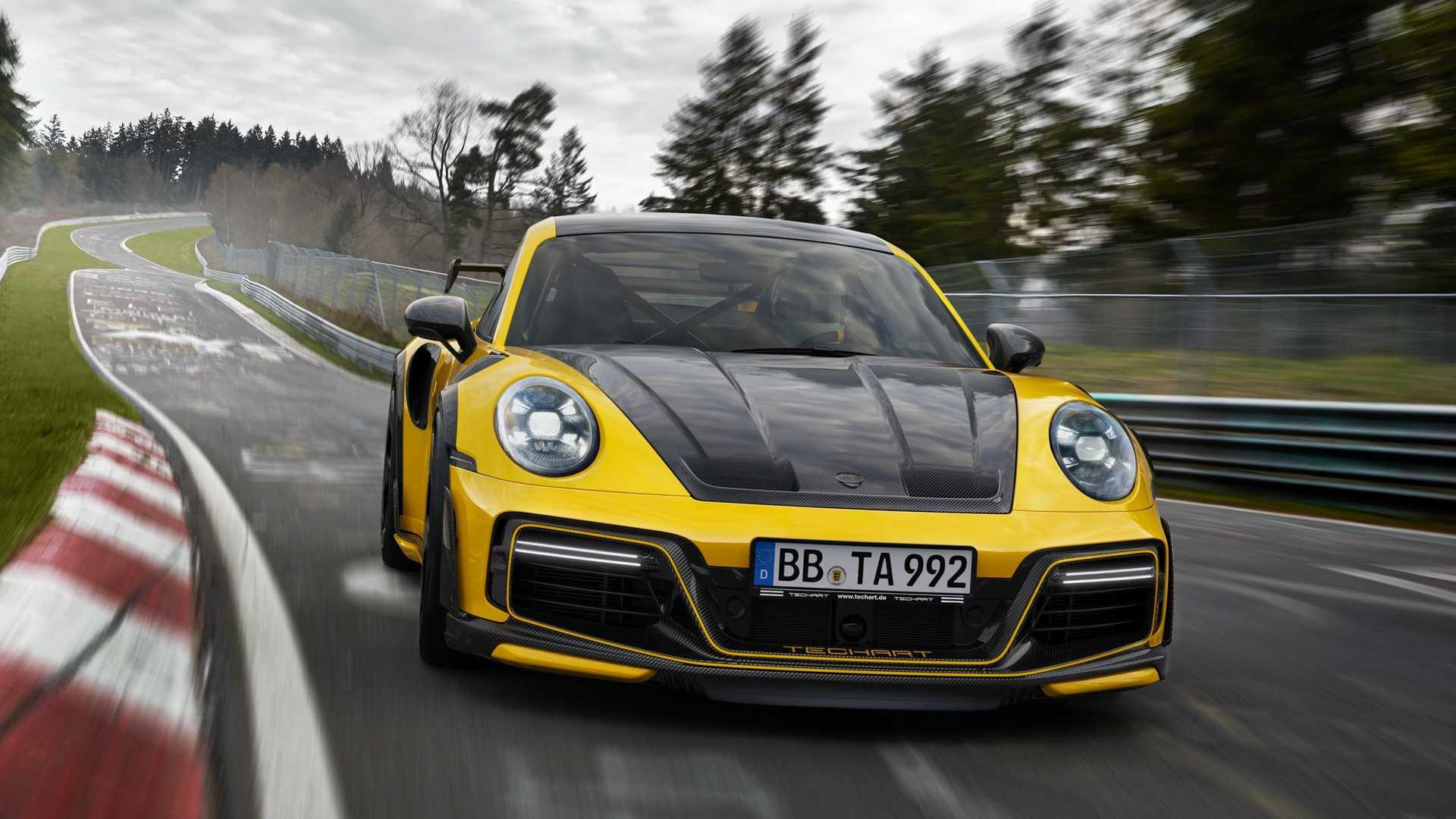 2021 Techart GT Street R is a tuned Porsche 911 Turbo that packs 800 hp