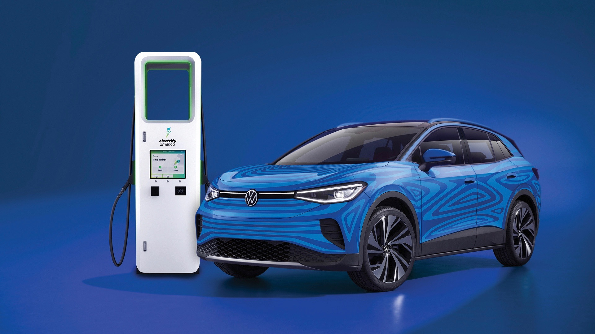 2021 VW ID.4 will include 3 years of unlimited Electrify America fast charging