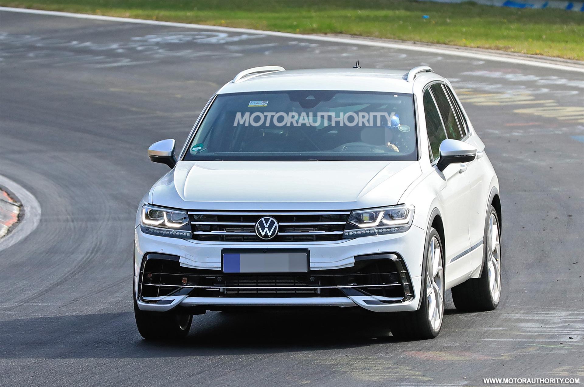2021 Volkswagen Tiguan R Spy Shots And Video