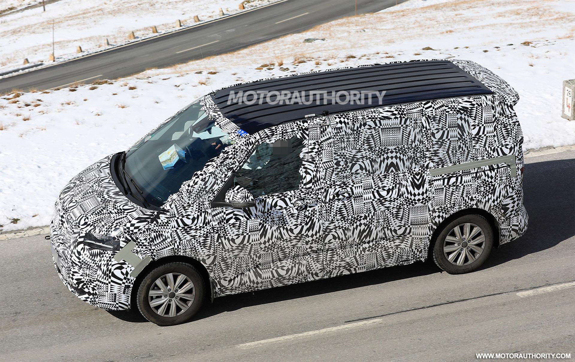 2021 - [Volkswagen] Transporter [T7] 2021-volkswagen-transporter-t7-spy-shots--photo-credit-s-baldauf-sb-medien_100725290_h