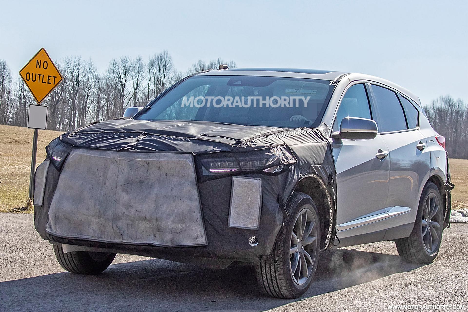 2022 Acura RDX spy shots: Mid-cycle update coming soon