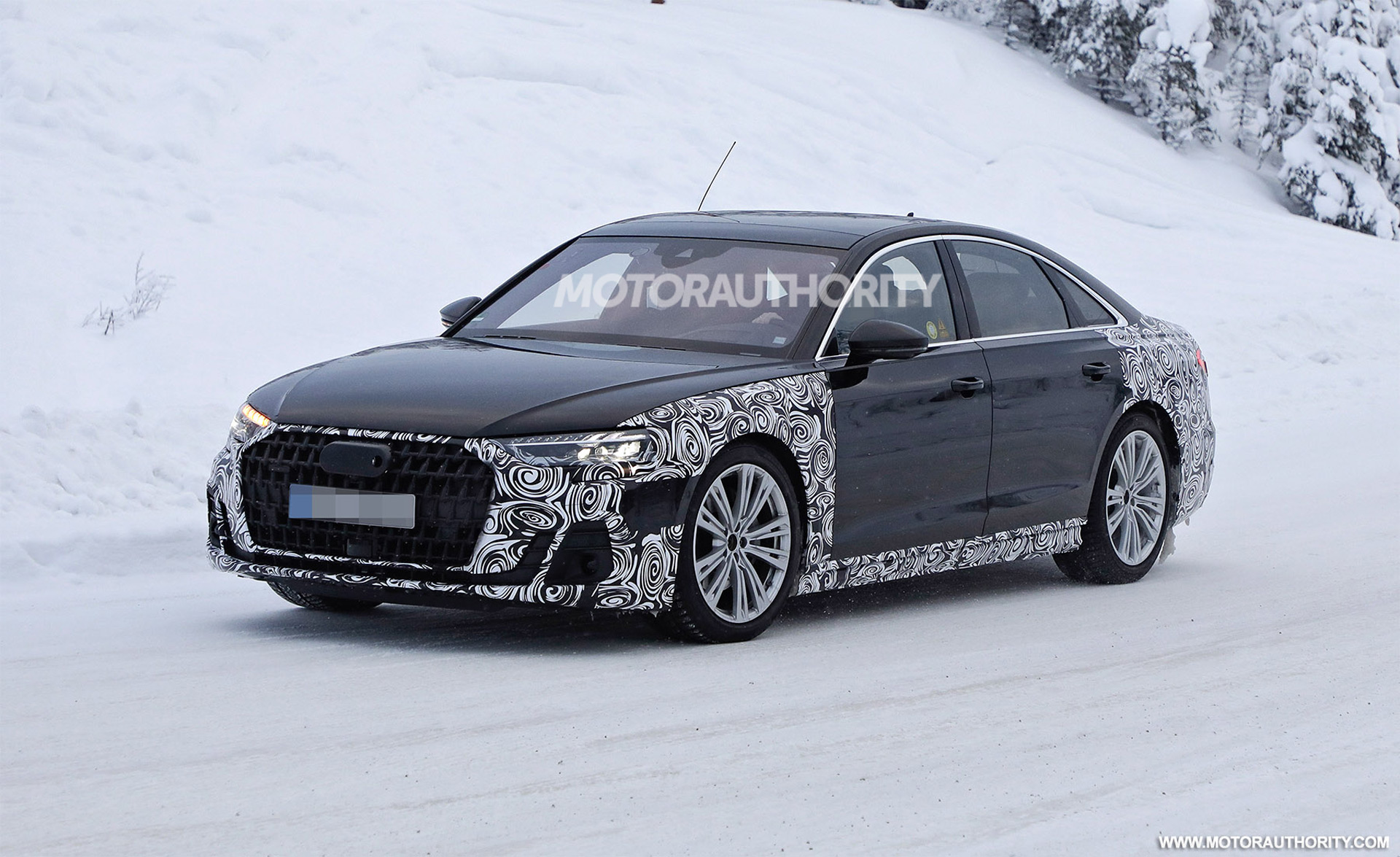 2022 Audi A8 spy shots: Mid-life facelift may see Maybach rival introduced