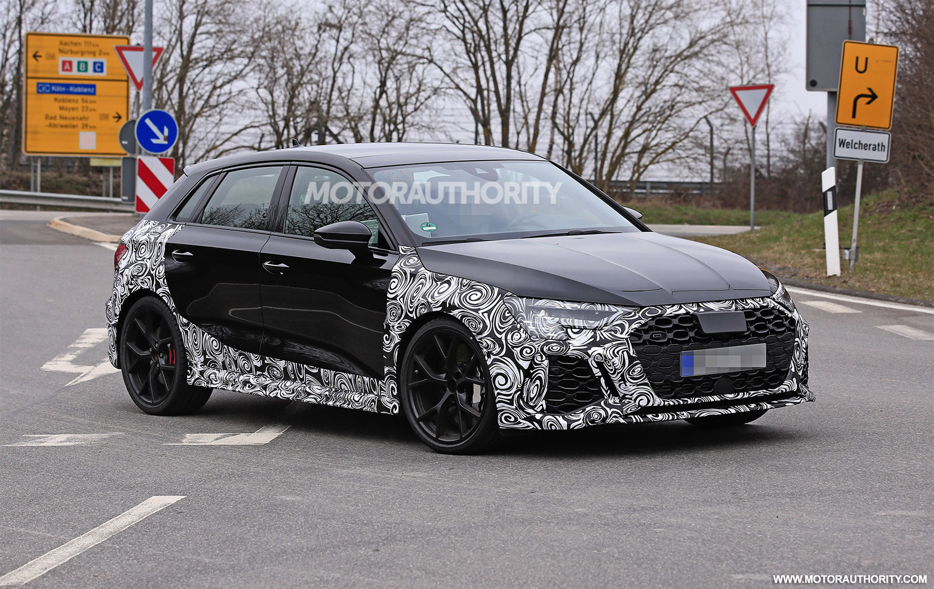 2022 Audi RS 3 Sportback spy shots: Hot hatch coming soon with 400-plus-hp
