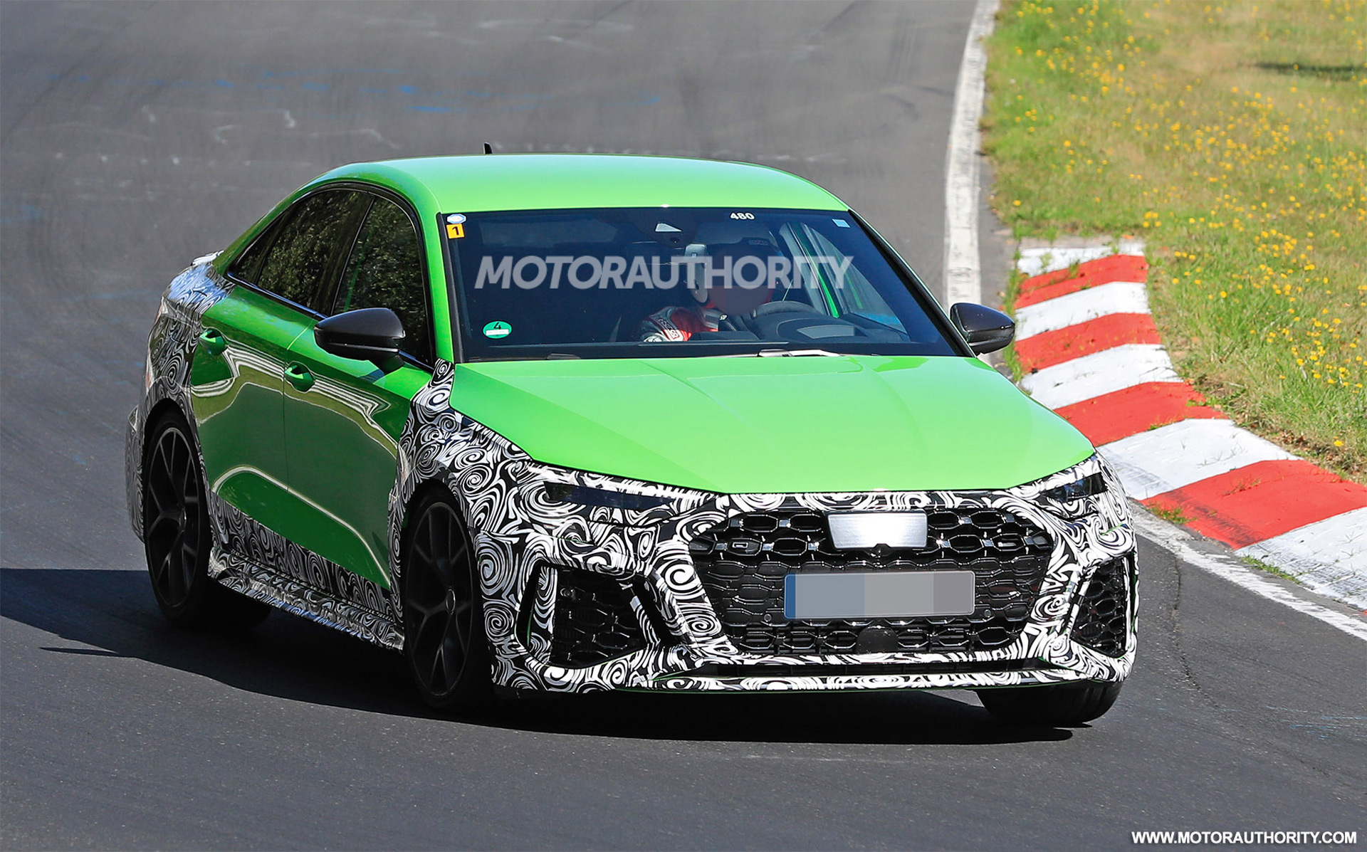 2022 Audi RS 3 spy shots: 400-plus-horsepower compact sedan coming
