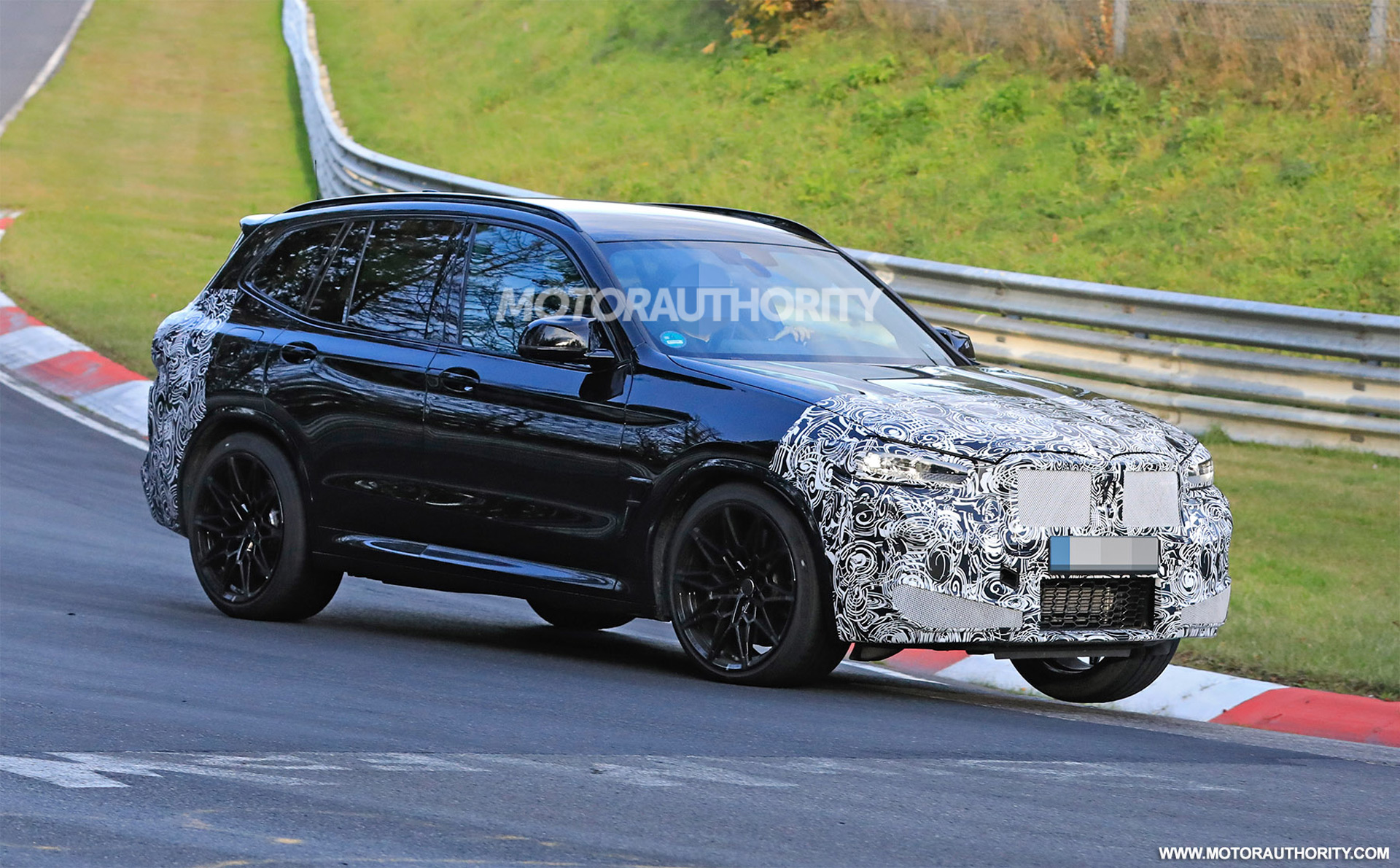 2022 Bmw X3 M Spy Shots New Look Coming For High Performance Suv