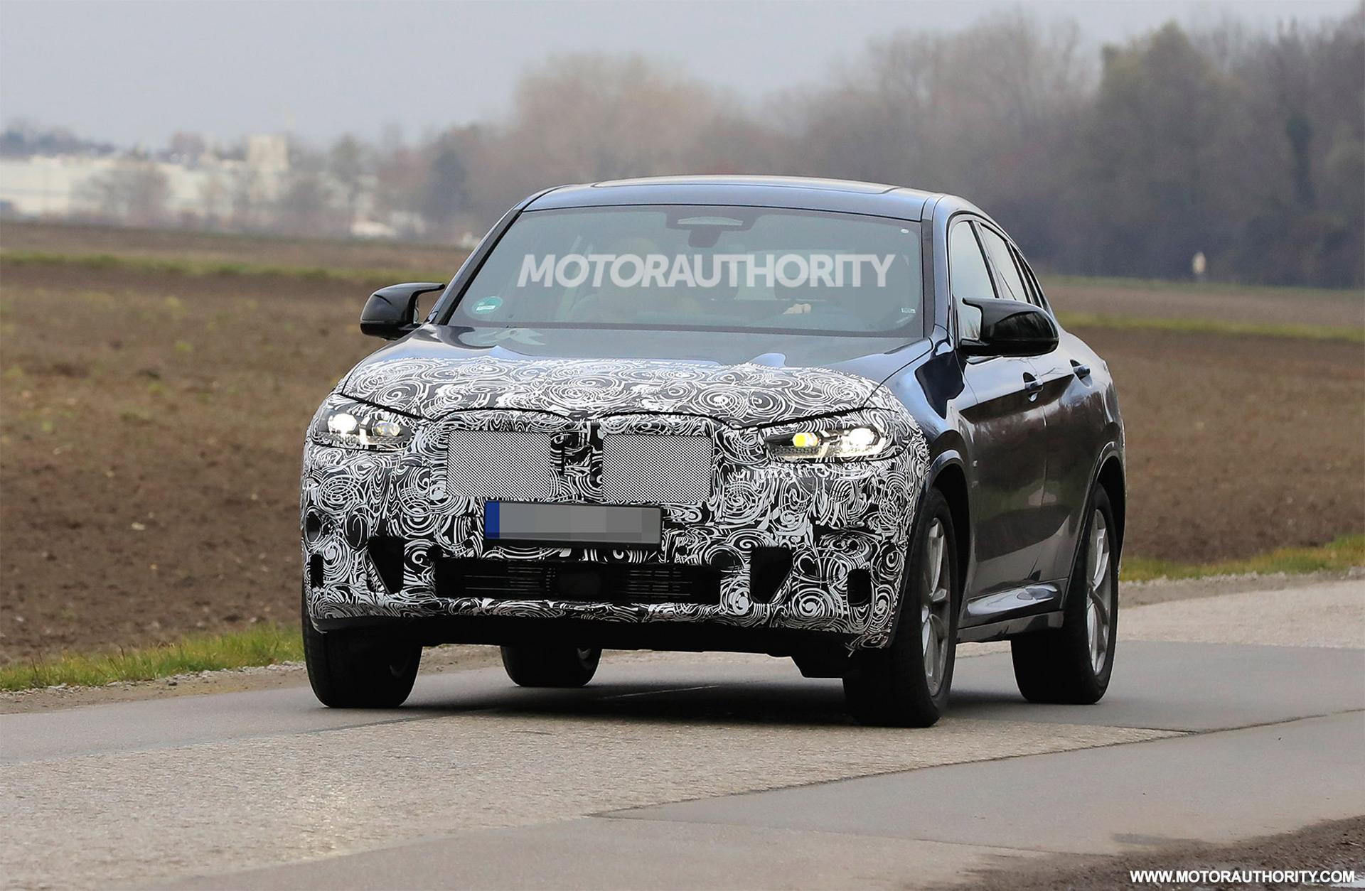 2022 BMW X4 spy shots: Mid-cycle refresh on the way