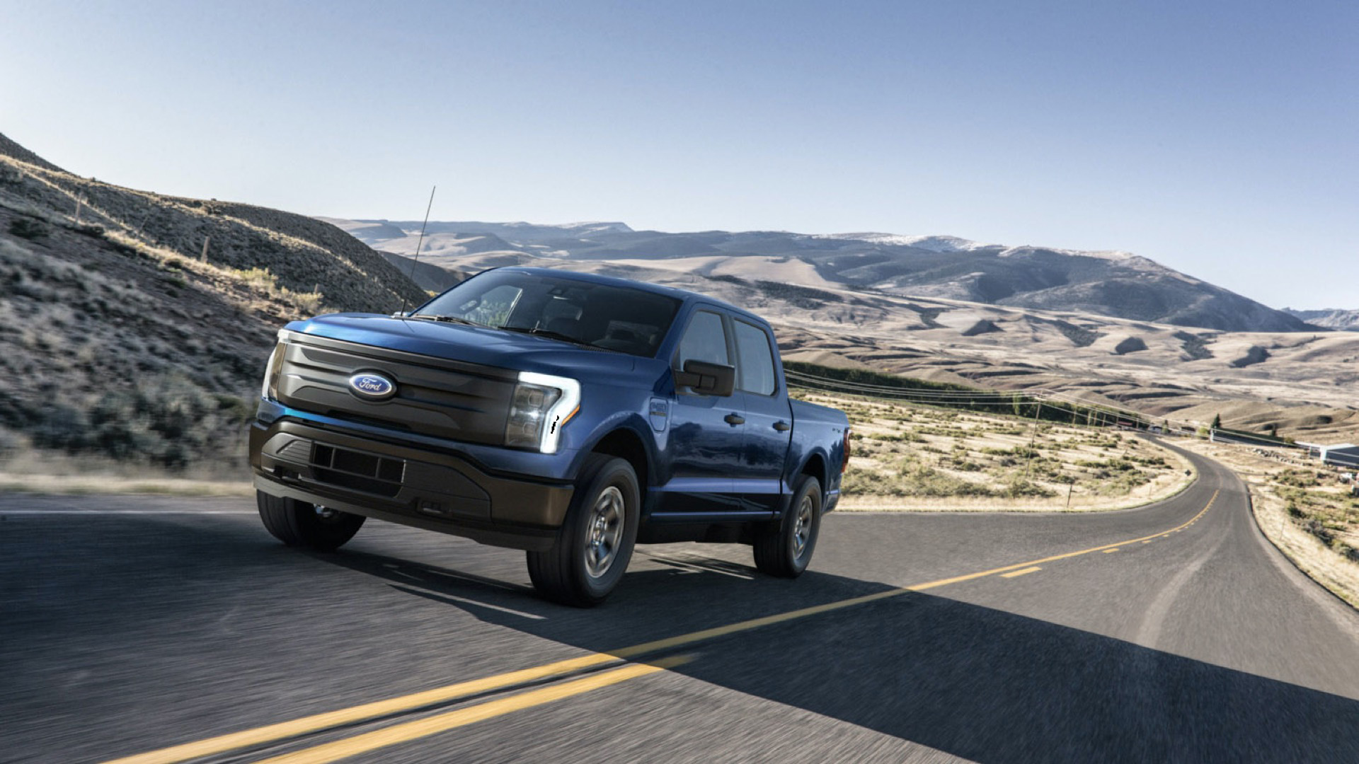 Ford F-150 Lightning: 85-mpg gasoline vehicle footprint, will keep getting cleaner with the grid