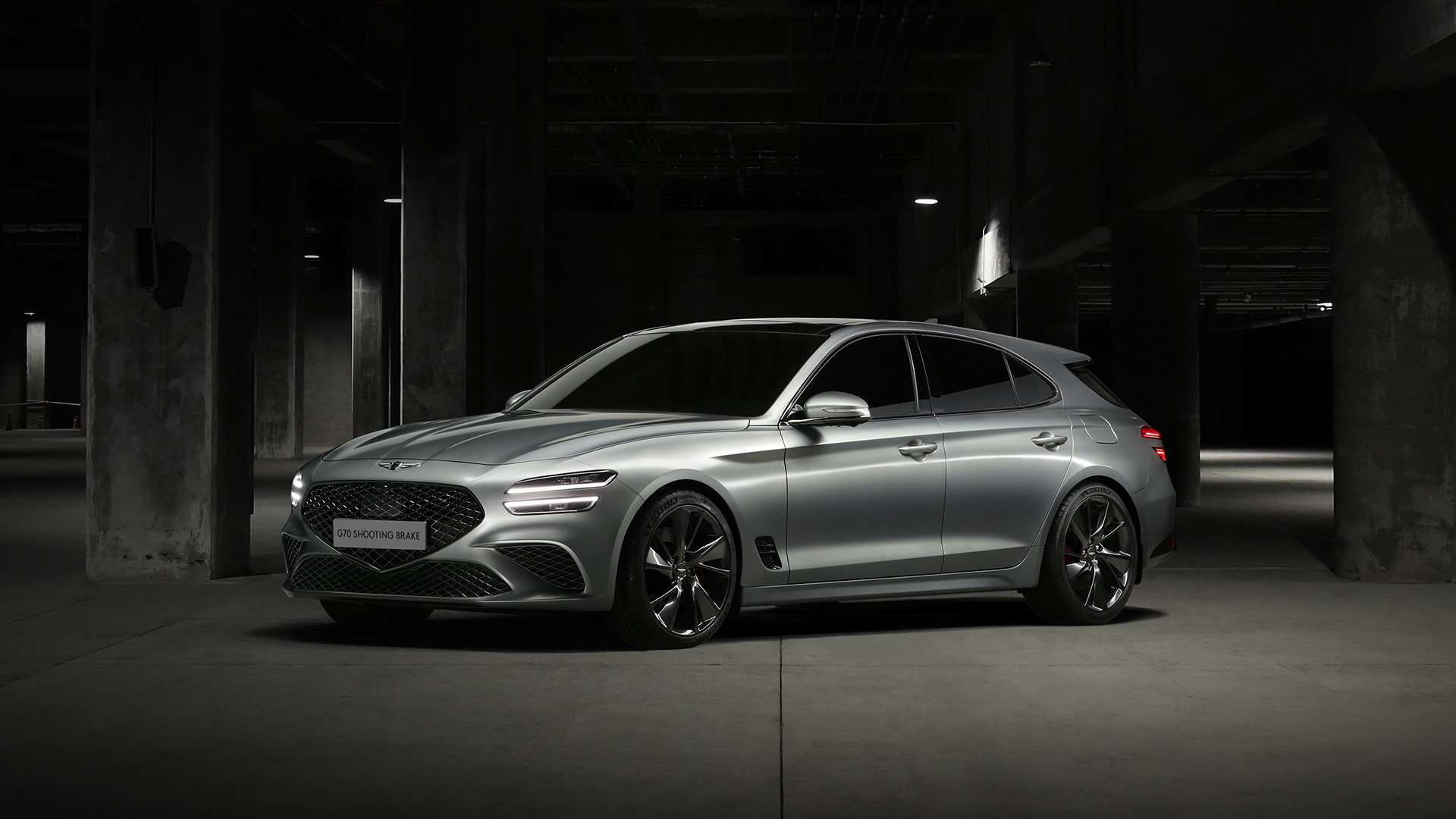2022 Genesis G70 Shooting Brake is a handsome wagon for Europe