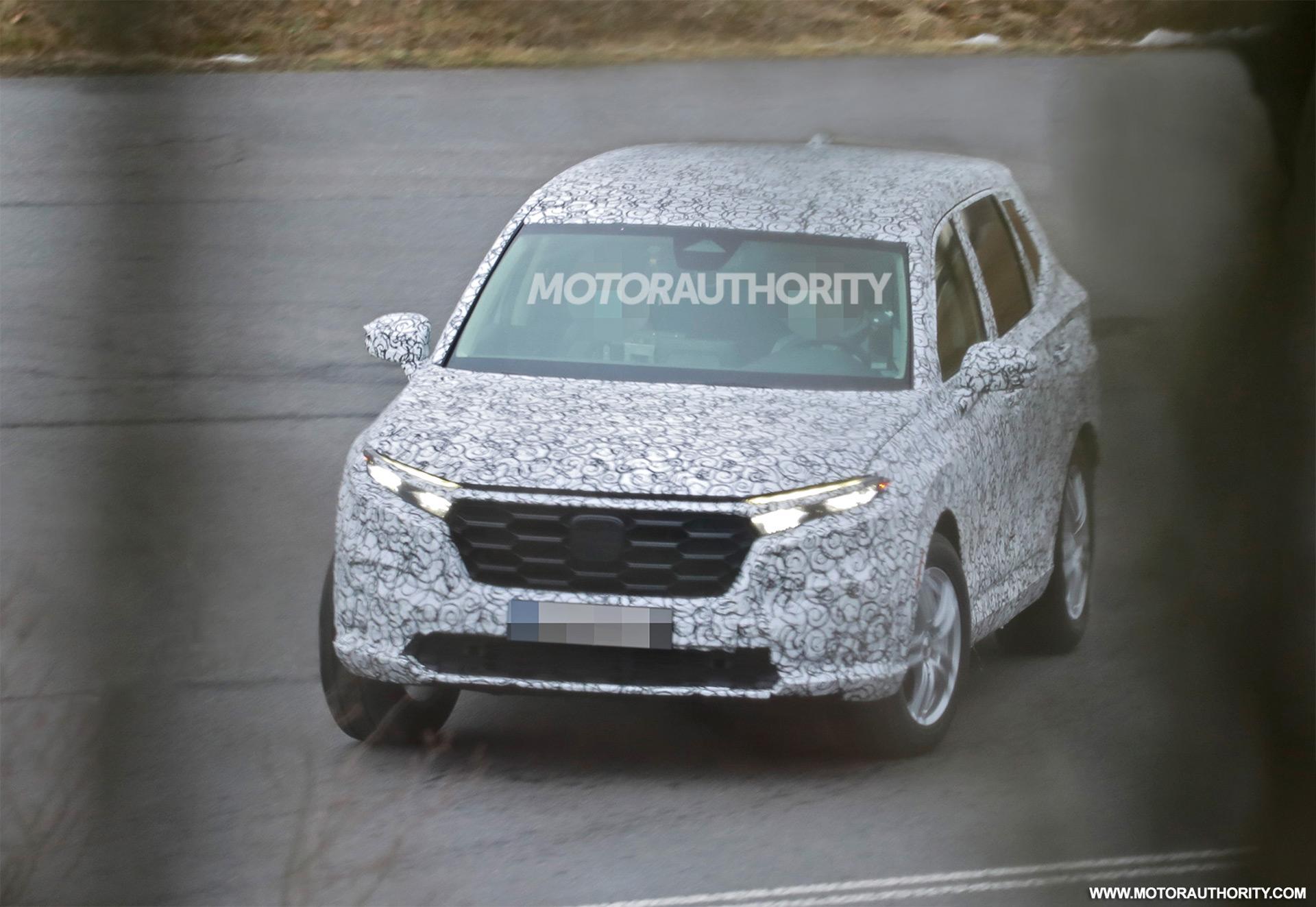 2022 Honda CR-V spy shots: Redesign coming for popular crossover