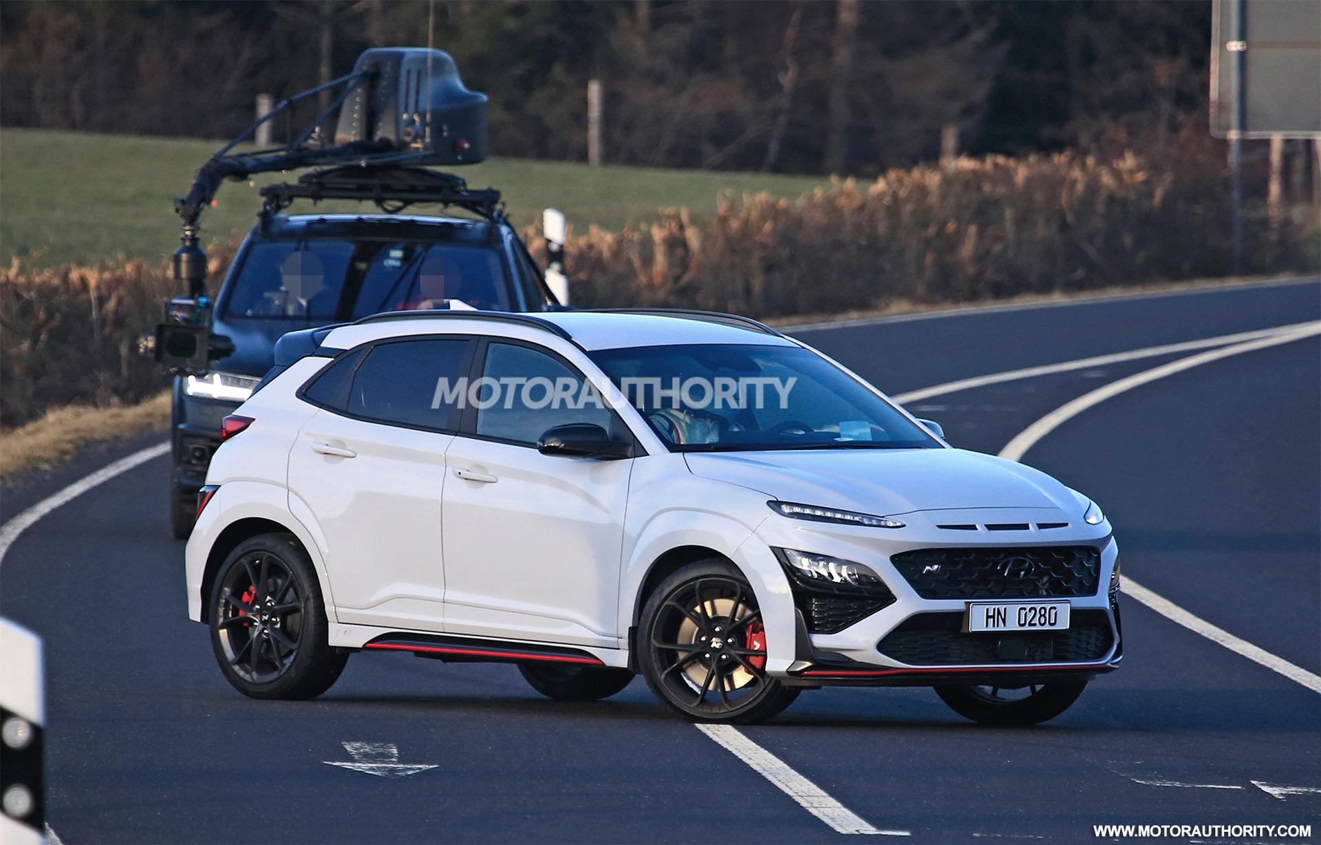 2022 Hyundai Kona N spy shots: Hot crossover sheds camo gear