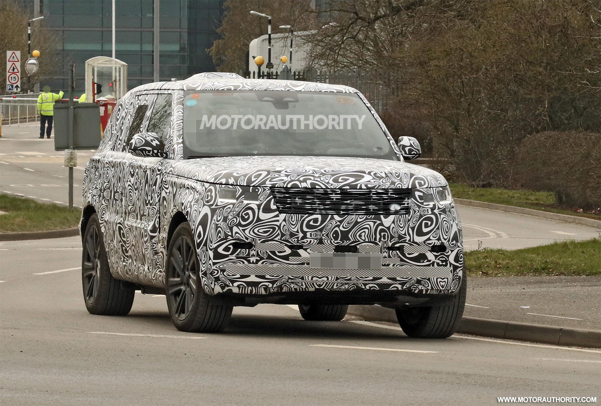 2022 Land Rover Range Rover spy shots: Familiar look belies new platform