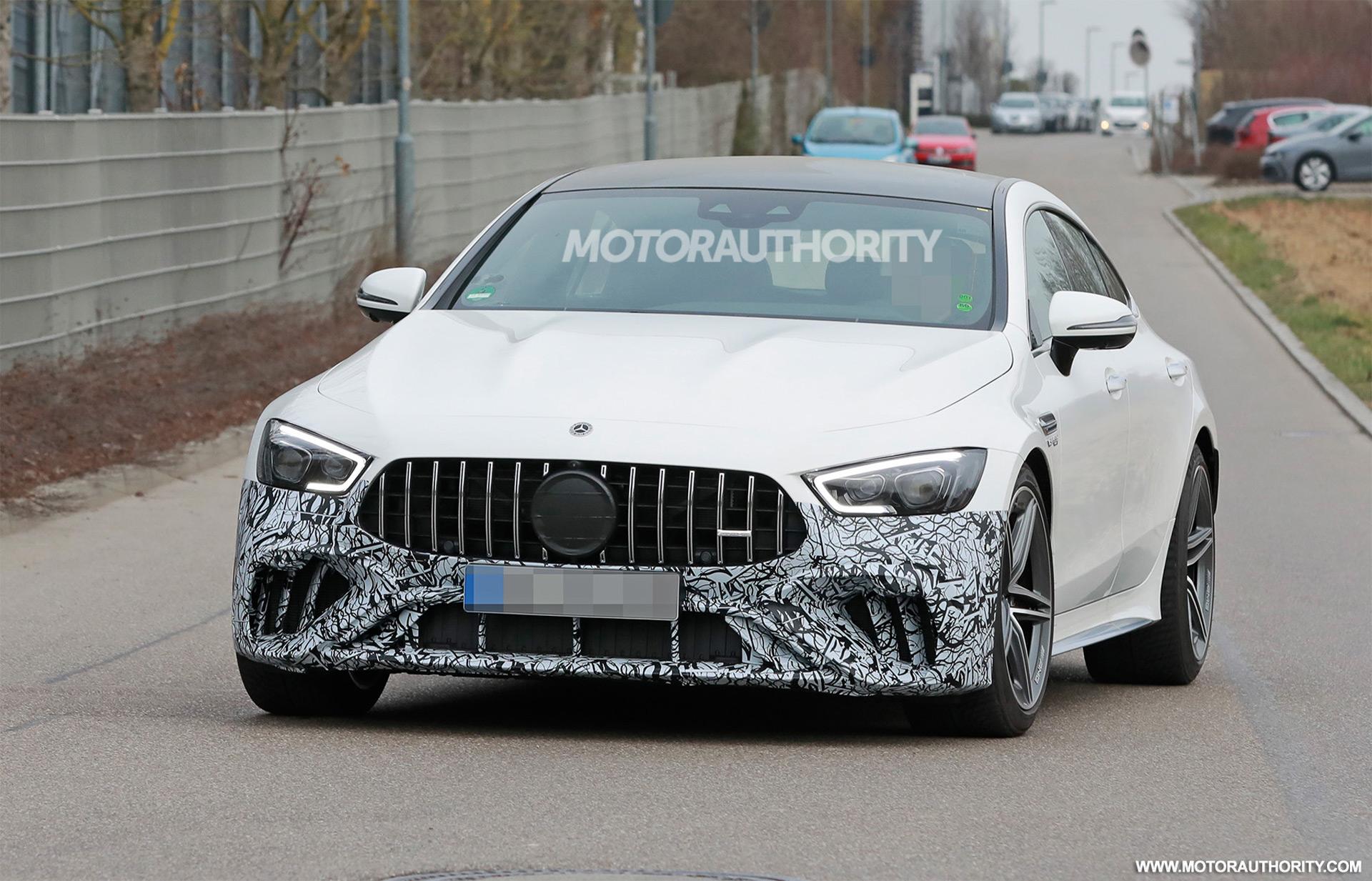 2022 Mercedes-Benz AMG GT 4-Door Coupe spy shots: Mild update for super sedan