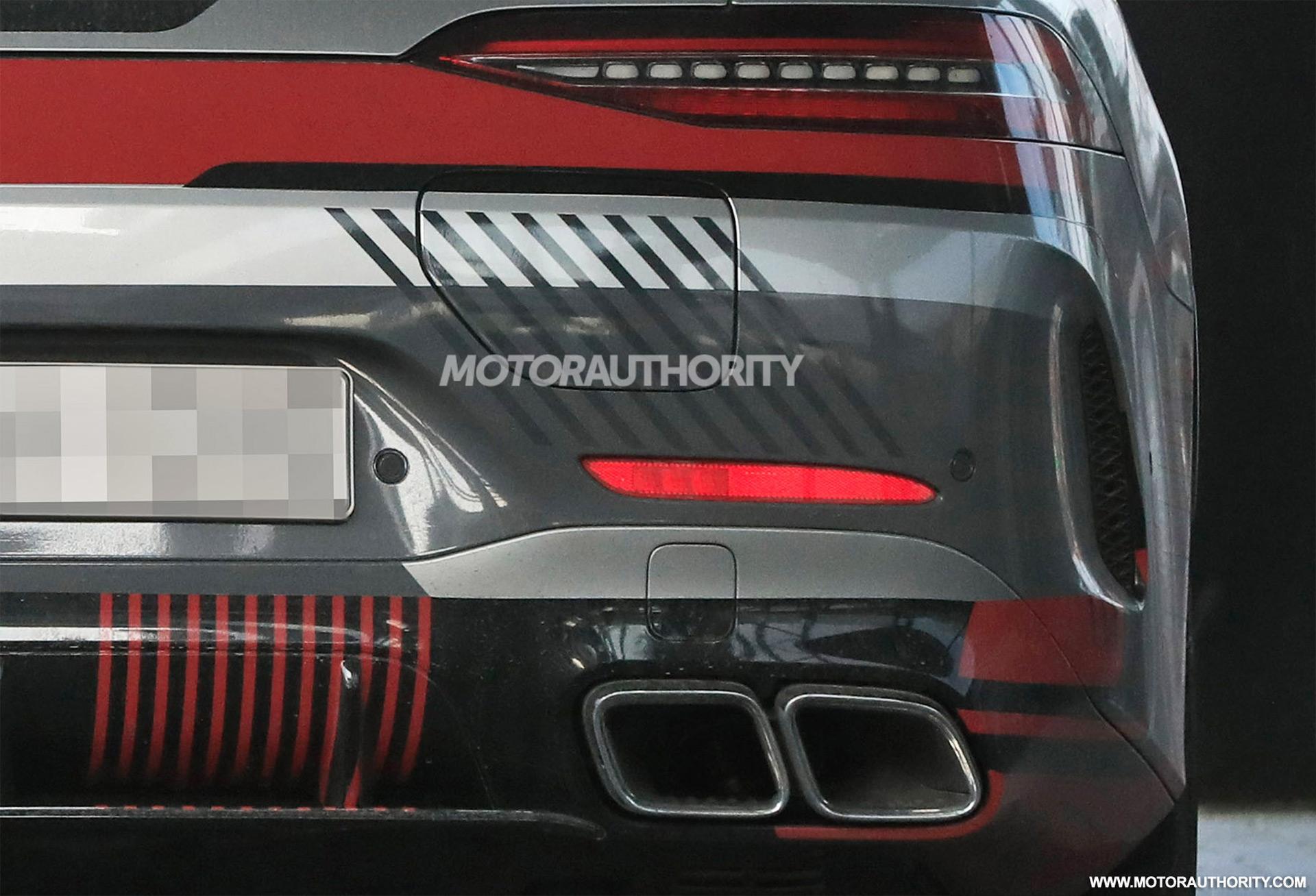 2022 Mercedes-Benz AMG GT 73e Coupe 4 cửa bị gián điệp - Ảnh: S. Baldauf / SB-Medien