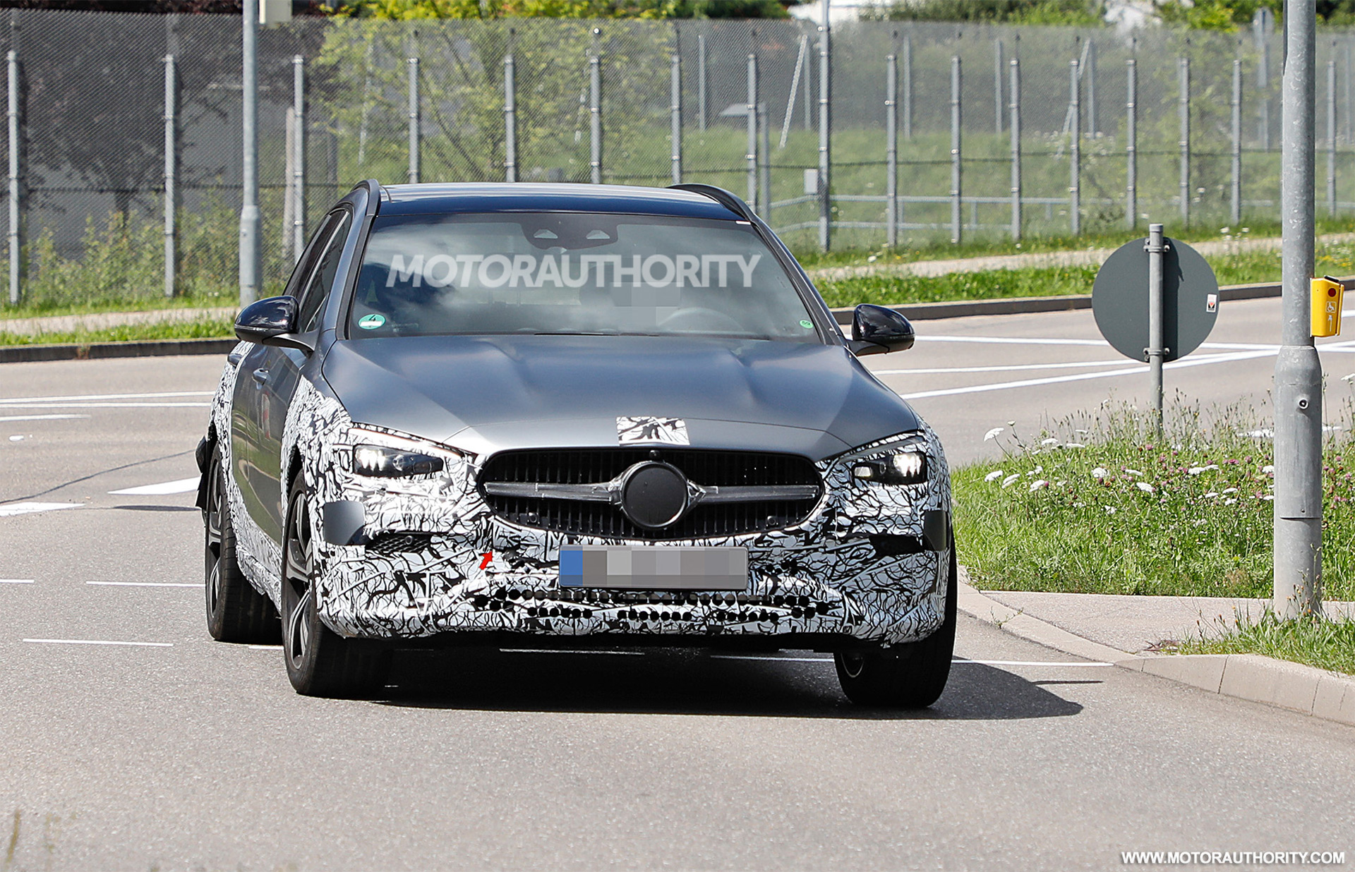 Fotos espía del Mercedes-Benz Clase C All-Terrain 2022 - Crédito de la foto: S. Baldauf / SB-Medien