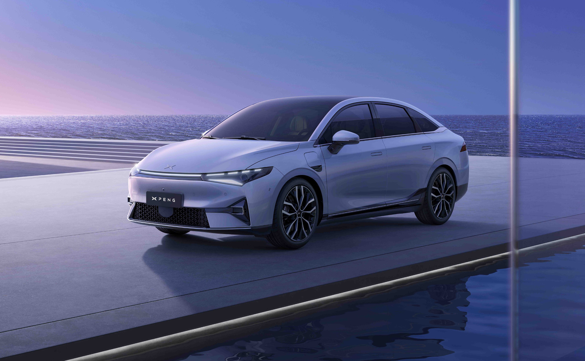 2022 Xpeng P5 revealed as first production car with built-in lidar