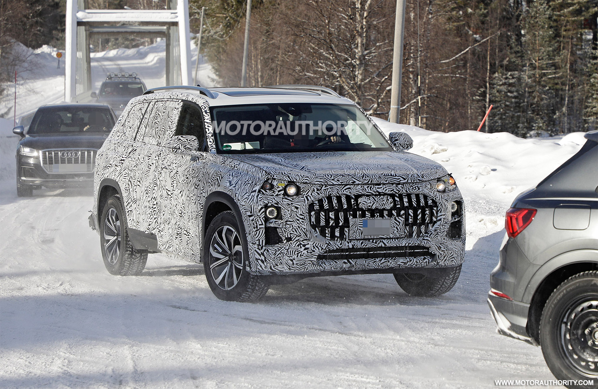 2023 Audi Q9 spy shots: Full-size SUV in the works?