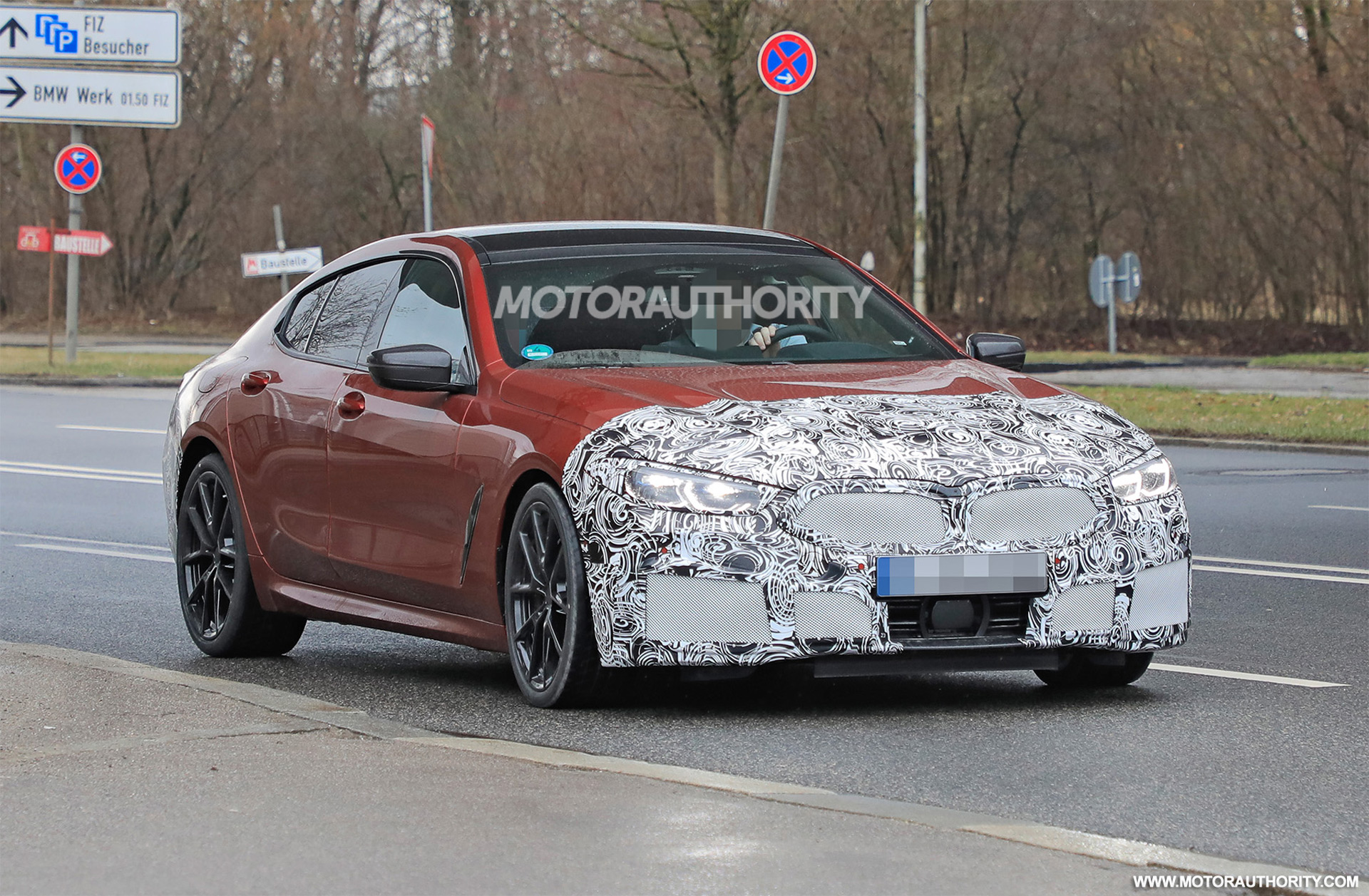 2023 BMW 8-Series Gran Coupe spy shots: Mid-cycle update on the way