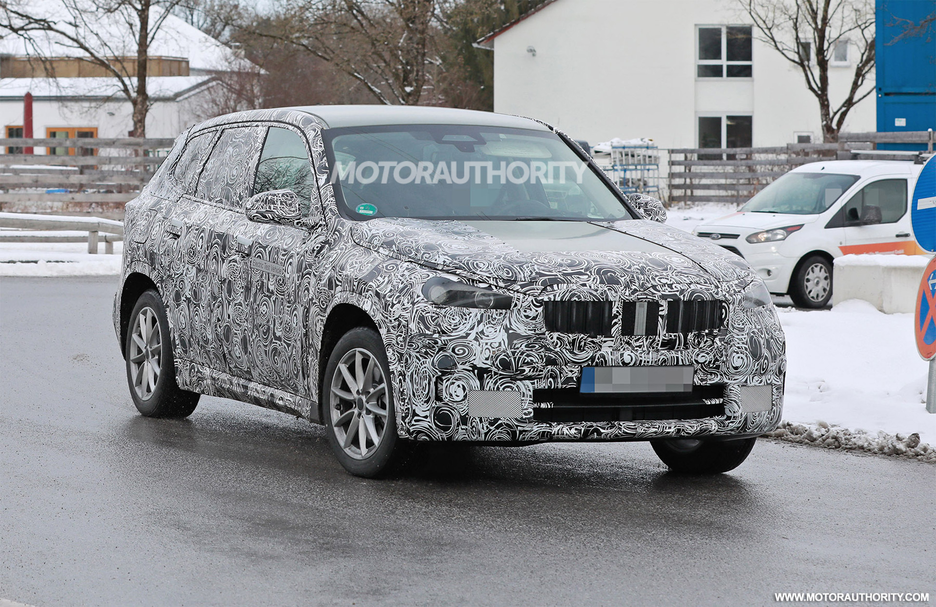 2023 BMW iX1 spy shots: Redesigned X1 crossover to offer electric option