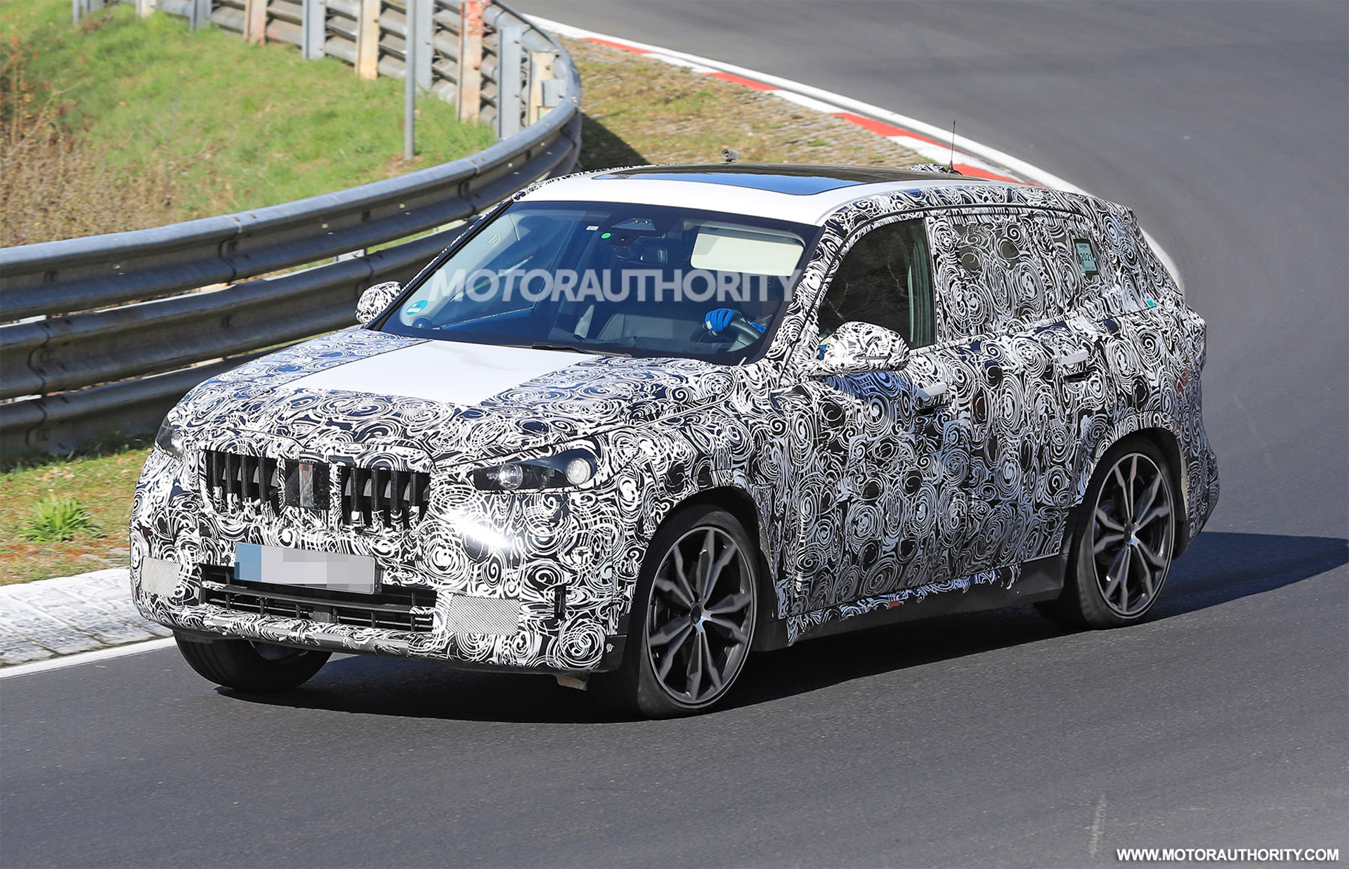2023 BMW X1 spy shots: Handsome redesign coming for compact crossover